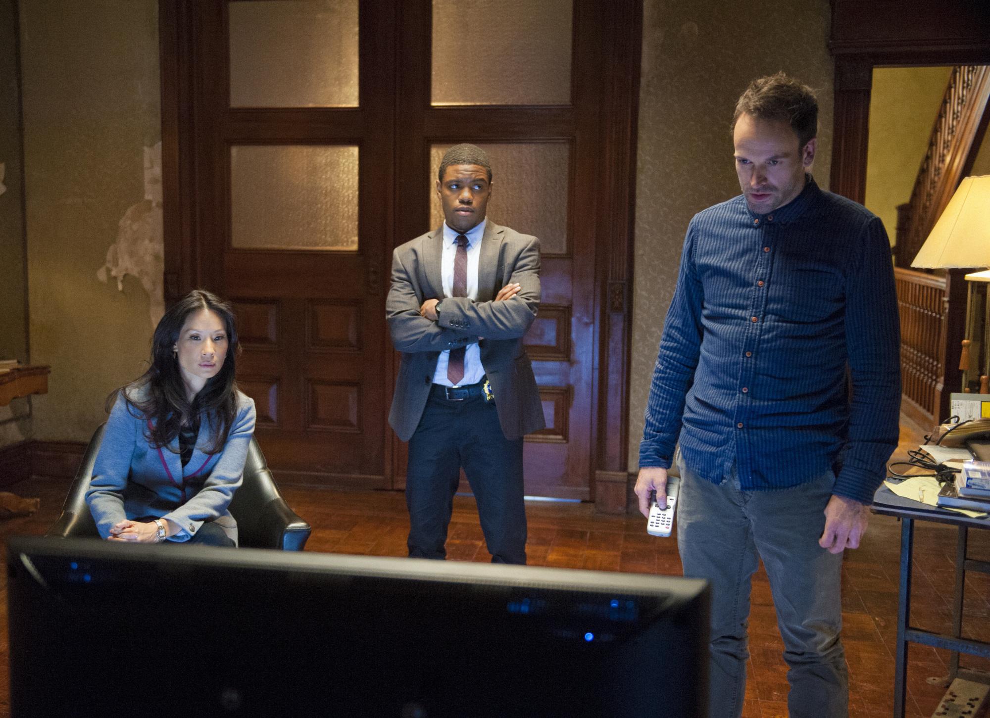 Watson, Detective Bell and Sherlock