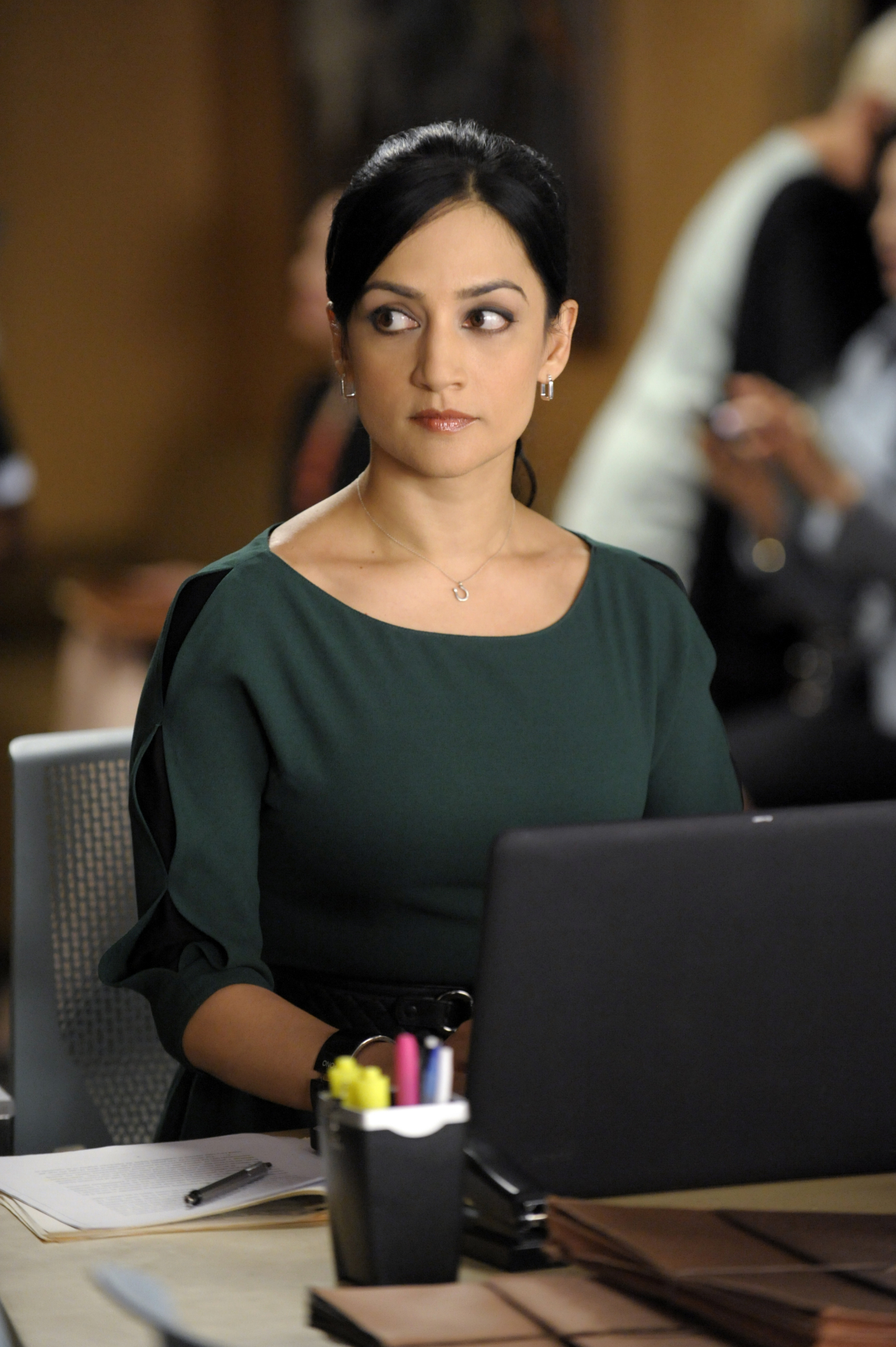 Archie Panjabi on Her Golden Globe Nod