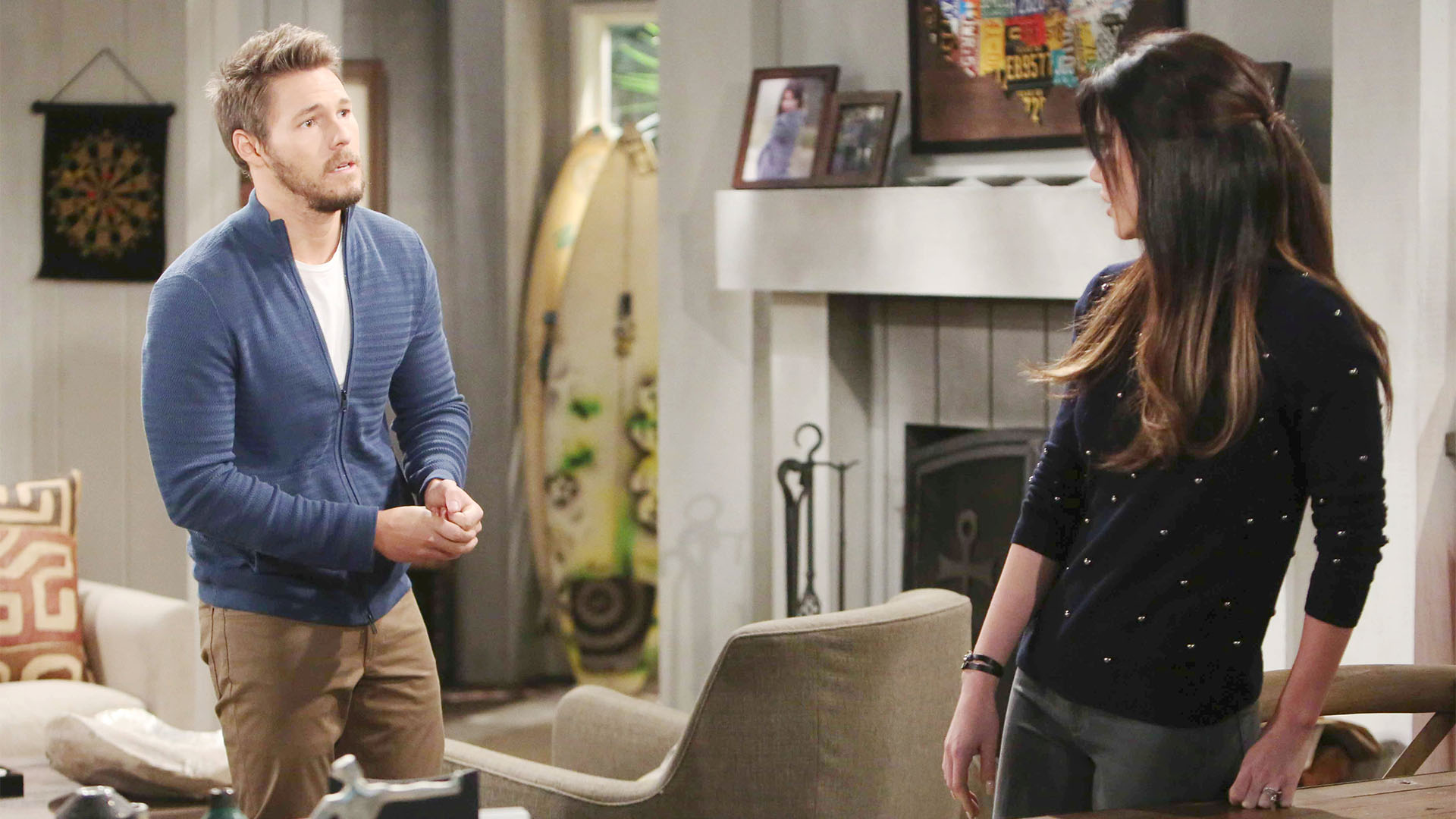 Steffy's actions lead her to become more forgiving of Liam's minor indiscretion.