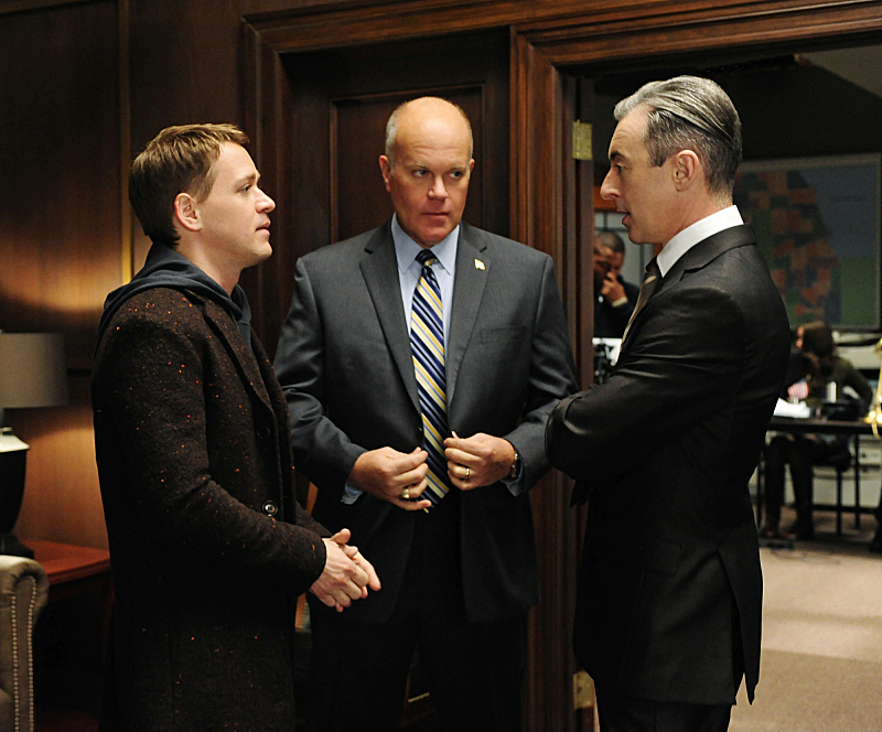 Mike Pniewski and T.R. Knight as Frank Landau and Jordan Karahalios