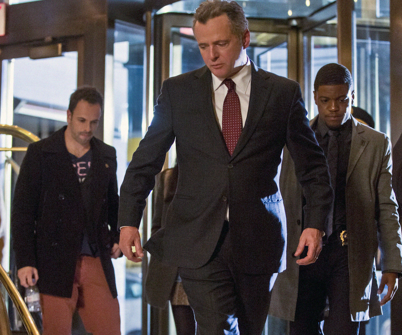 Sherlock, Gregson and Detective Bell