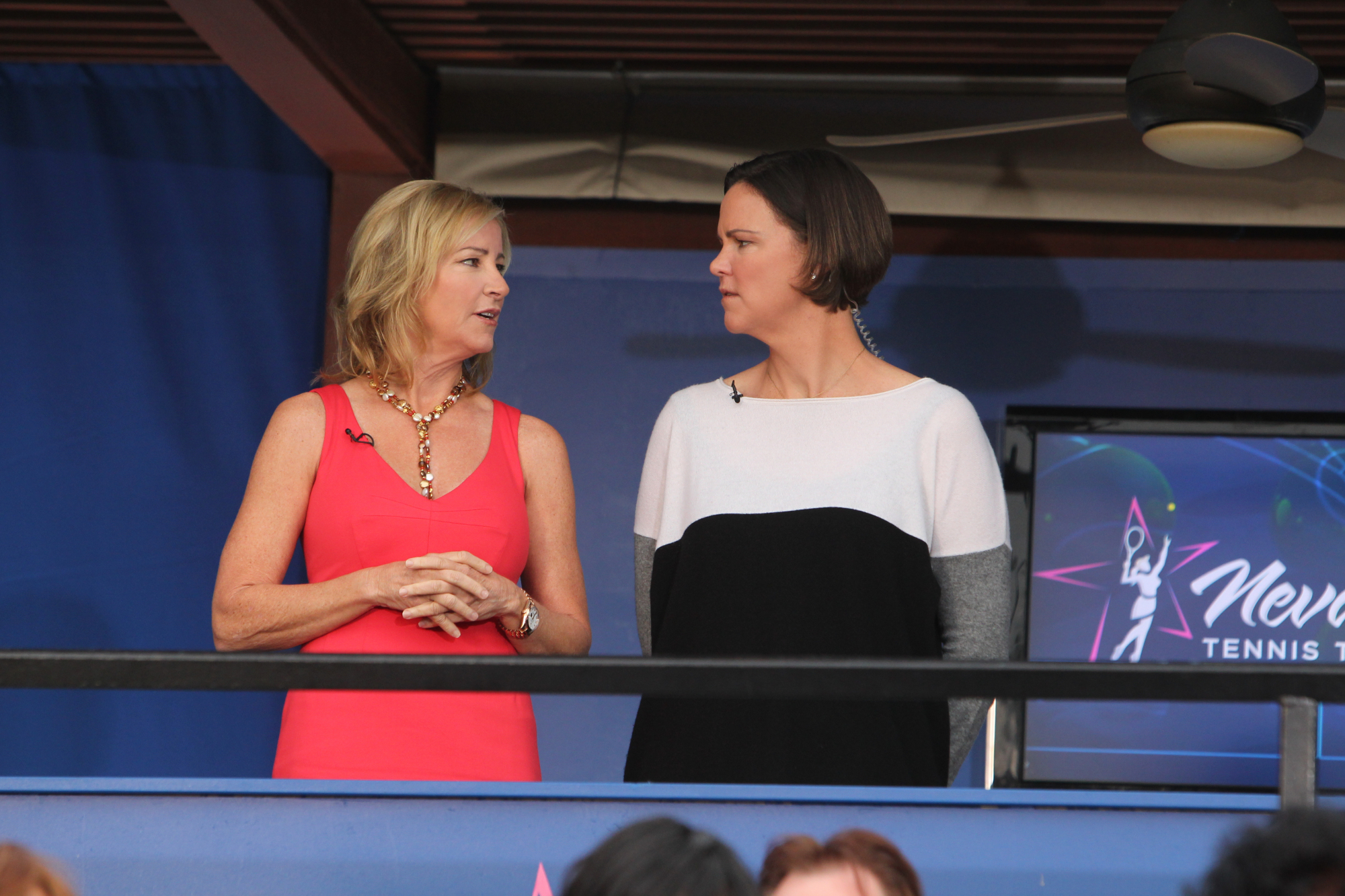 Chris Evert and Lindsay Davenport Guest Star