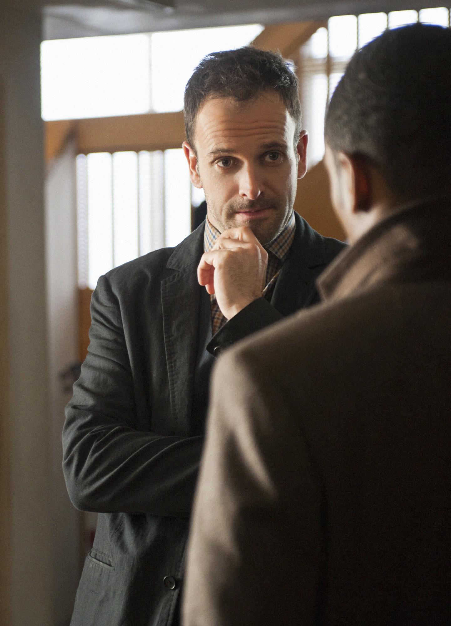 Sherlock Speaks with Detective Bell