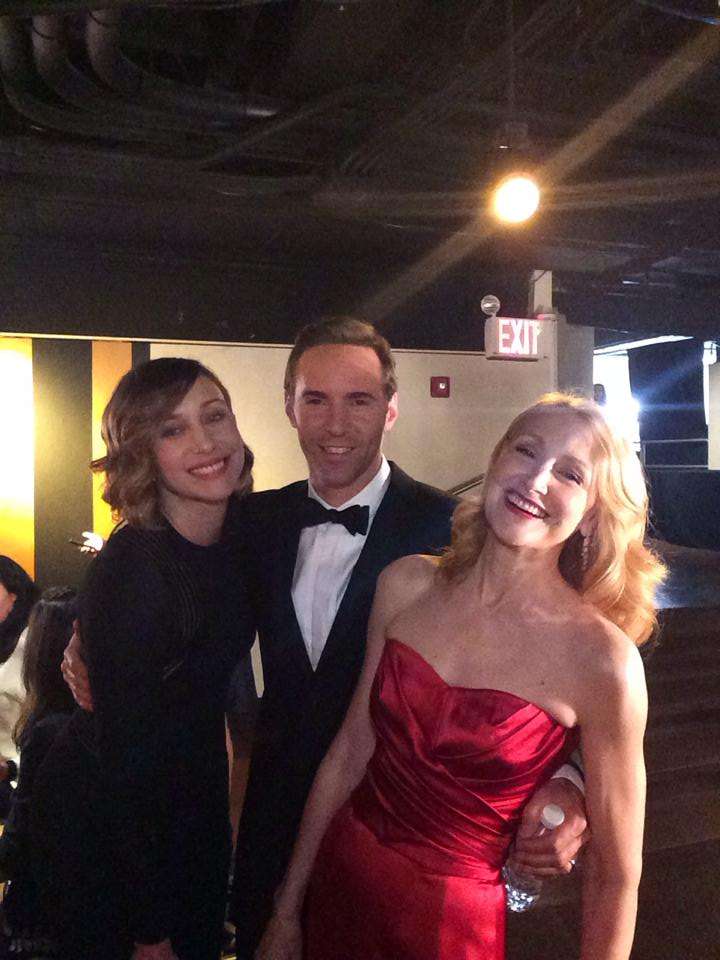 7. Vera Farmiga and Patricia Clarkson - Backstage at the Tony Awards