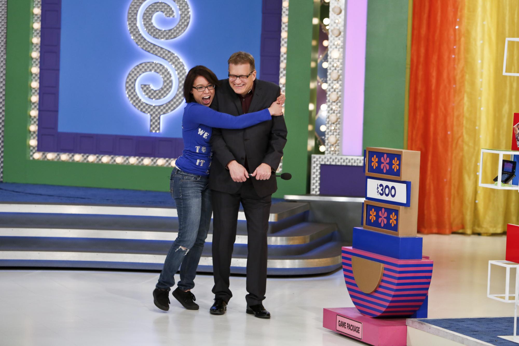 Ericka Hugs Drew!