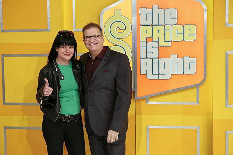 Pauley and Drew Carey have worked together in the past