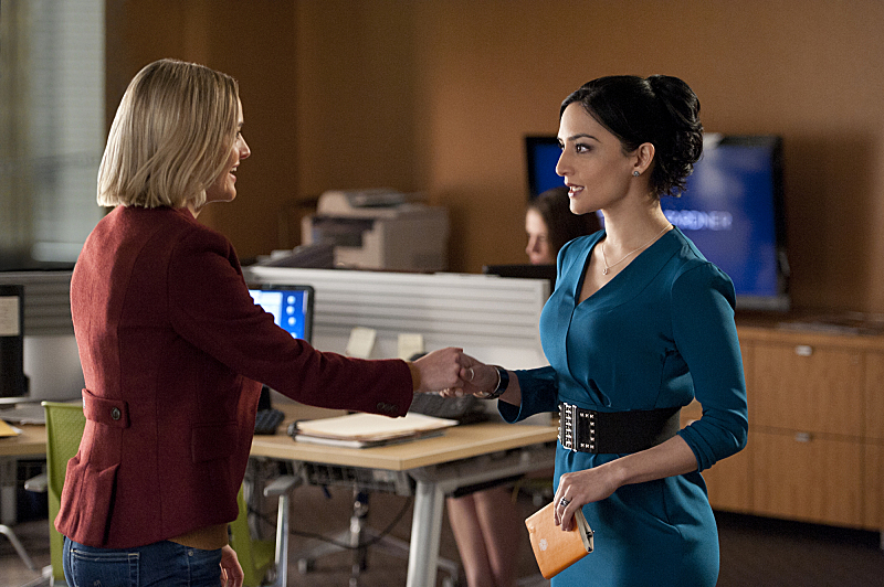 1. She won the Emmy for Outstanding Supporting Actress in a Drama Series in 2010 for her role as Kalinda Sharma in The Good Wife.