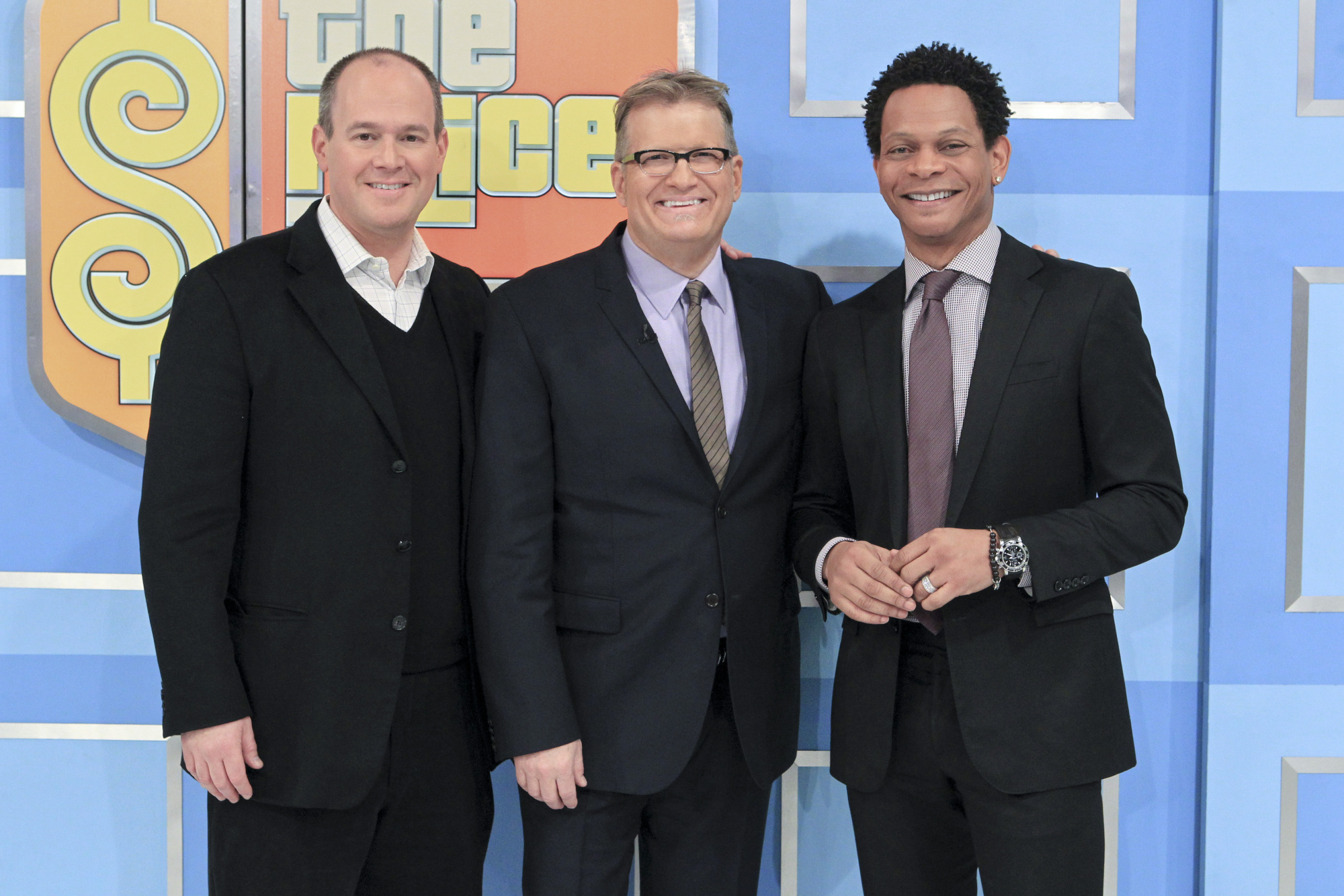 Rich Eisen & Eric Davis Visit The Price Is Right