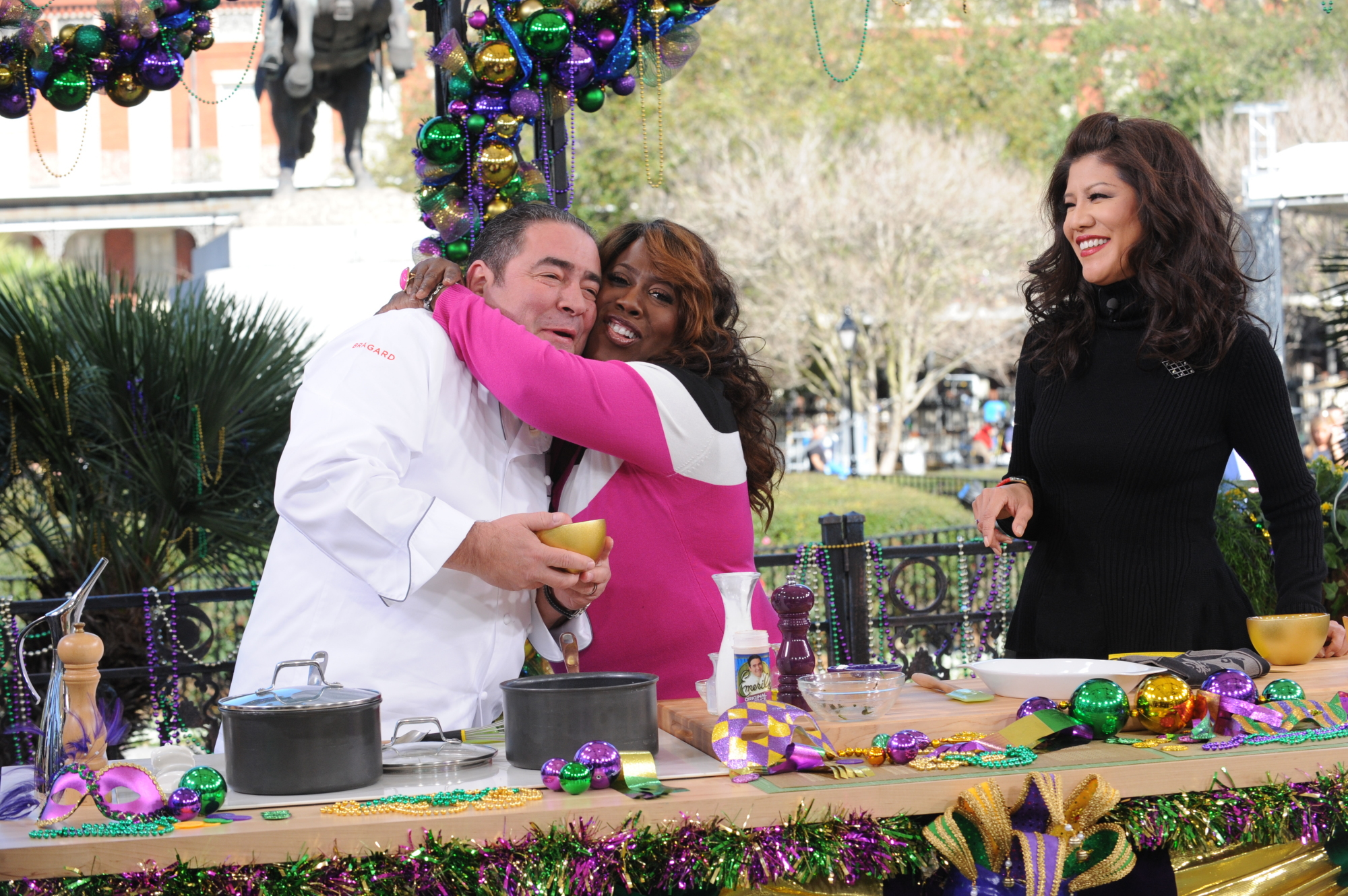 Sheryl and Emeril