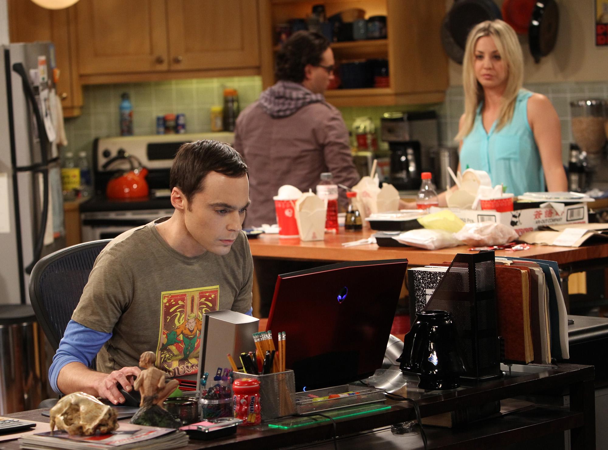 Focused Sheldon in