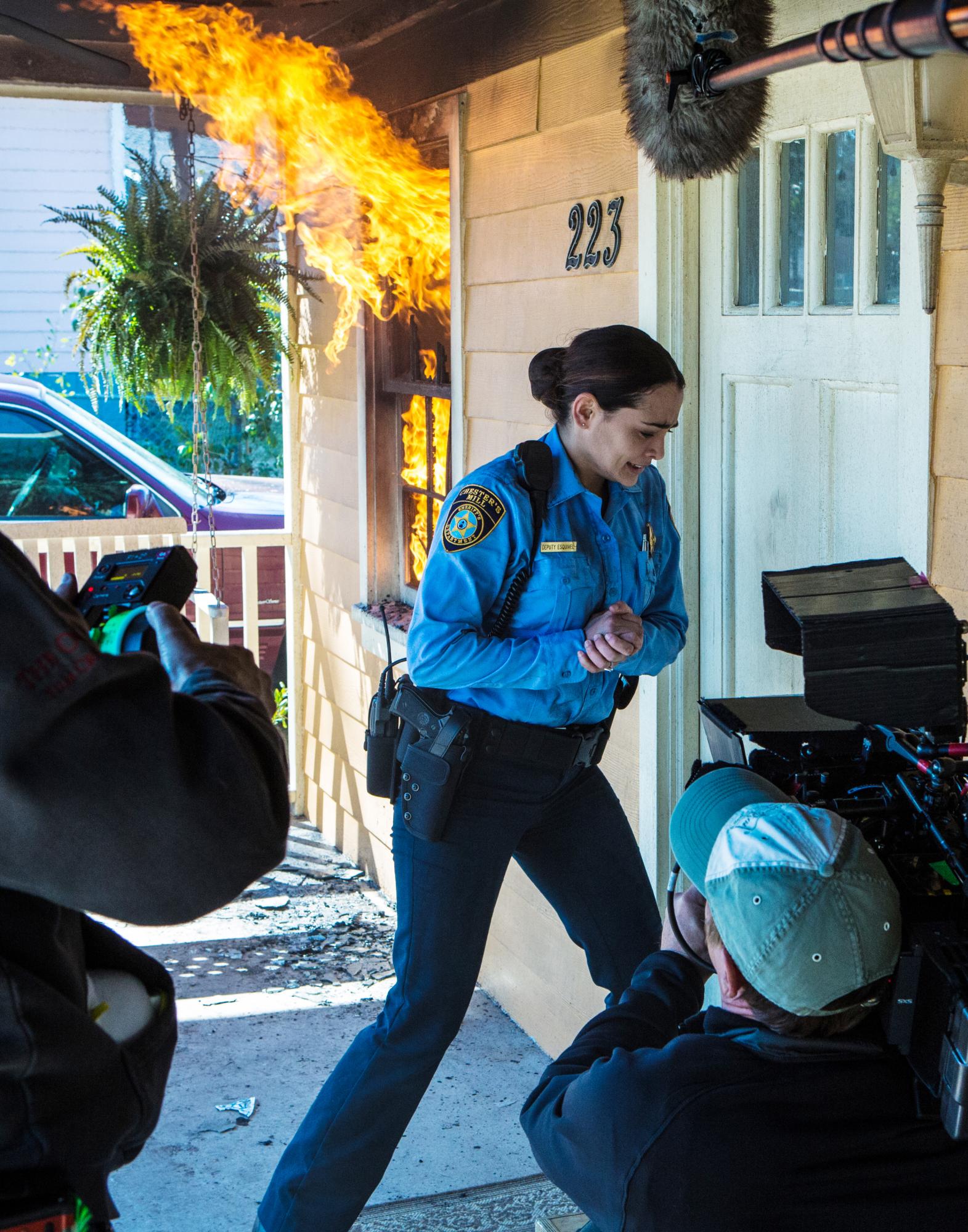 Deputy Linda Bursts In