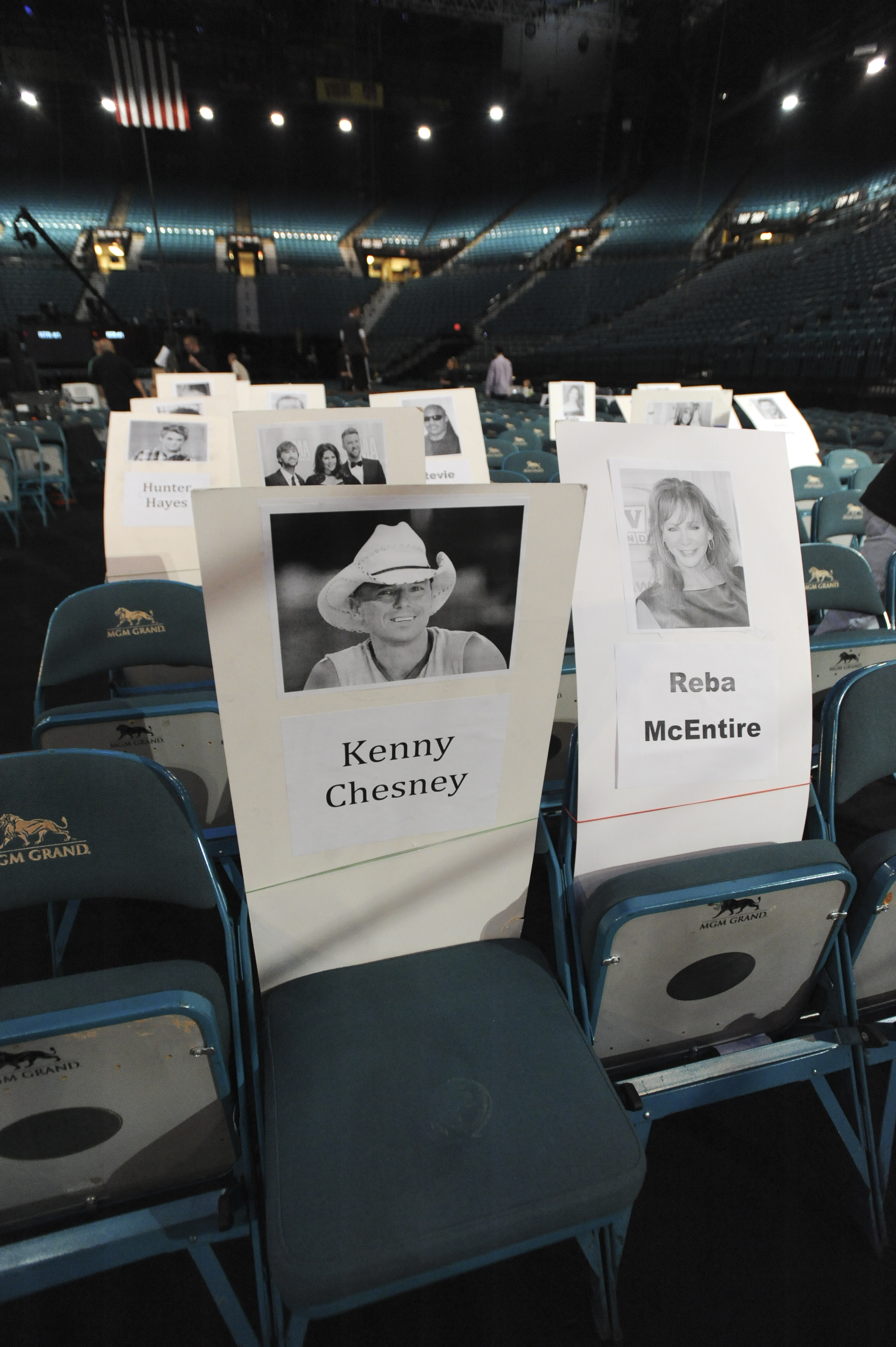 Kenny Chesney and Reba McEntire