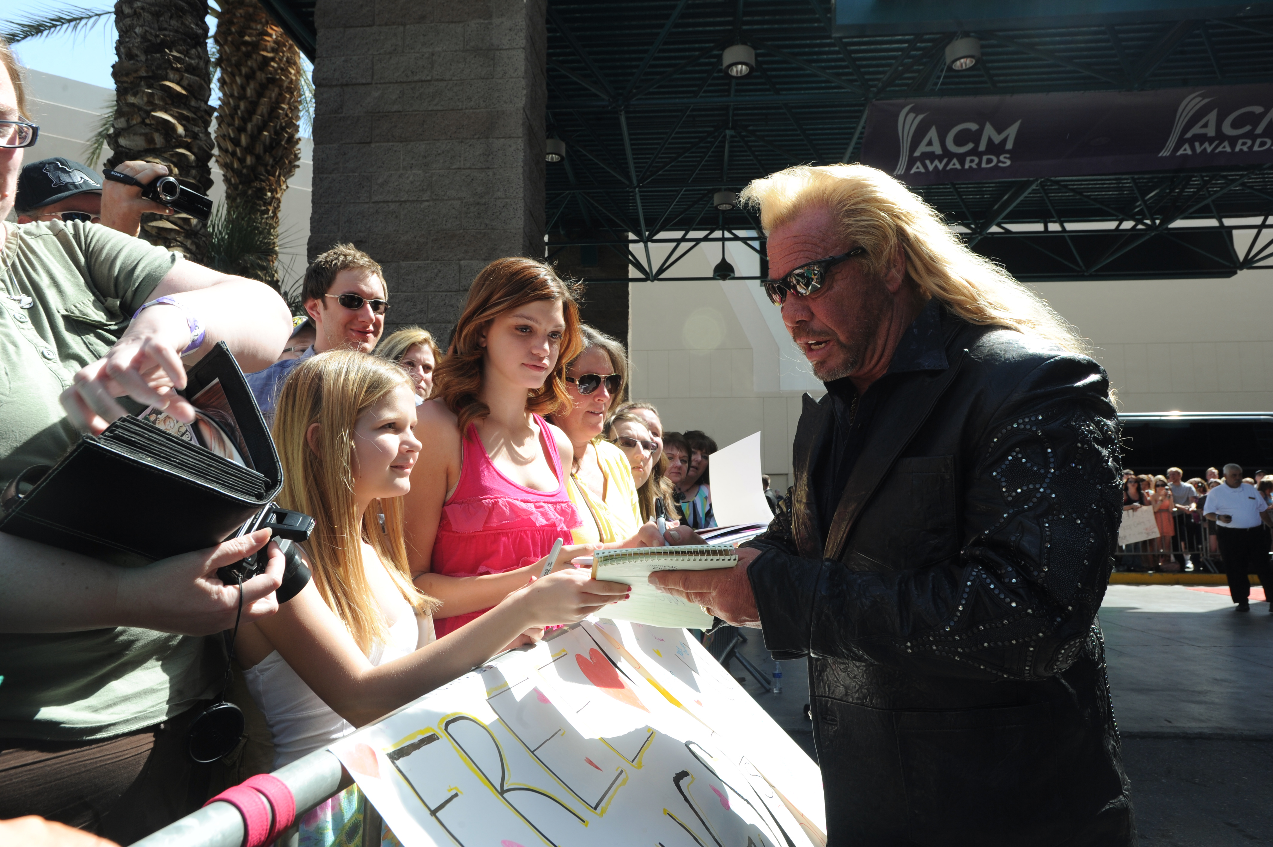 Duane 'Dog' Chapman on the Red Carpet - 48th ACM Awards