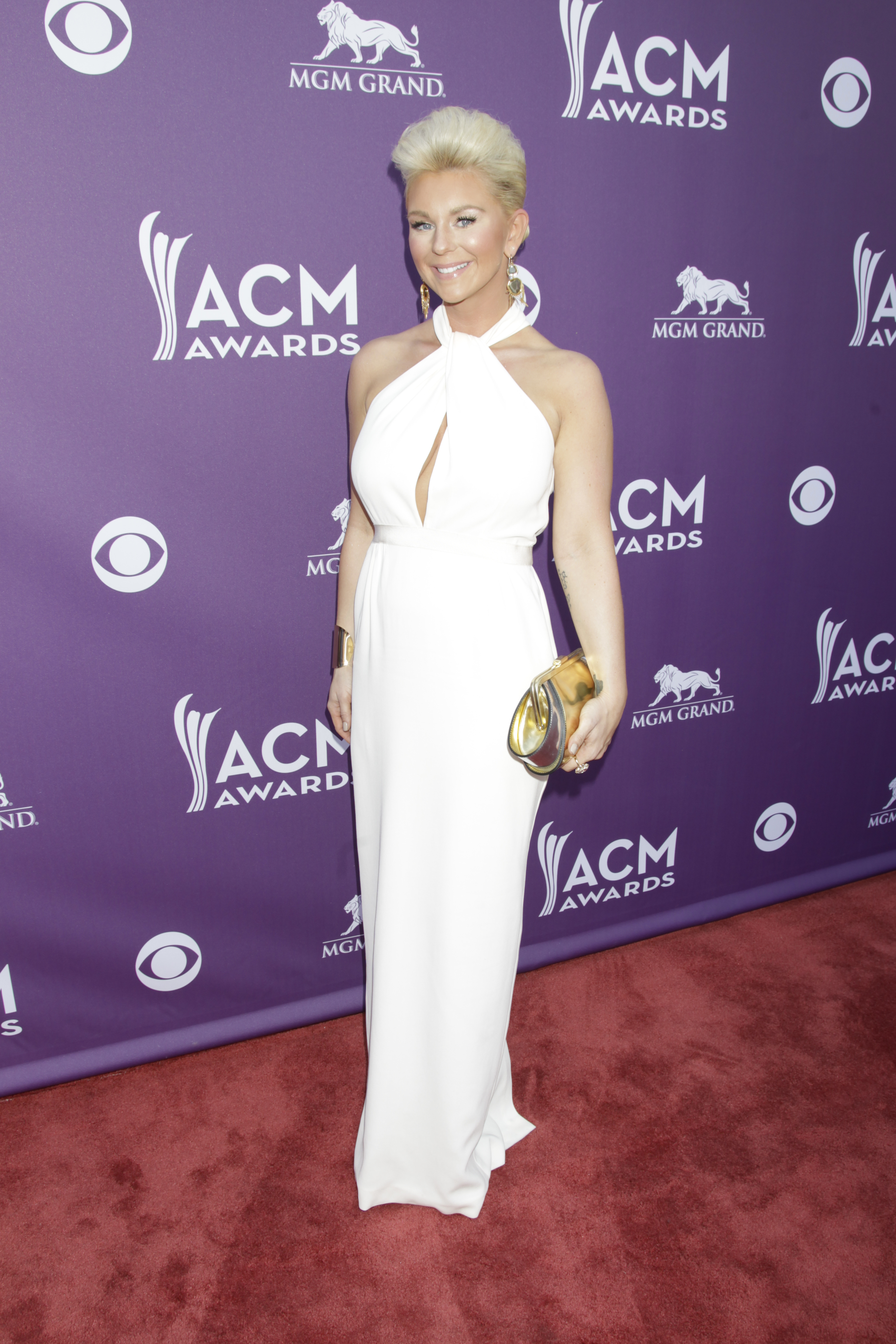 Jaida Dreyer on the Red Carpet - 48th ACM Awards