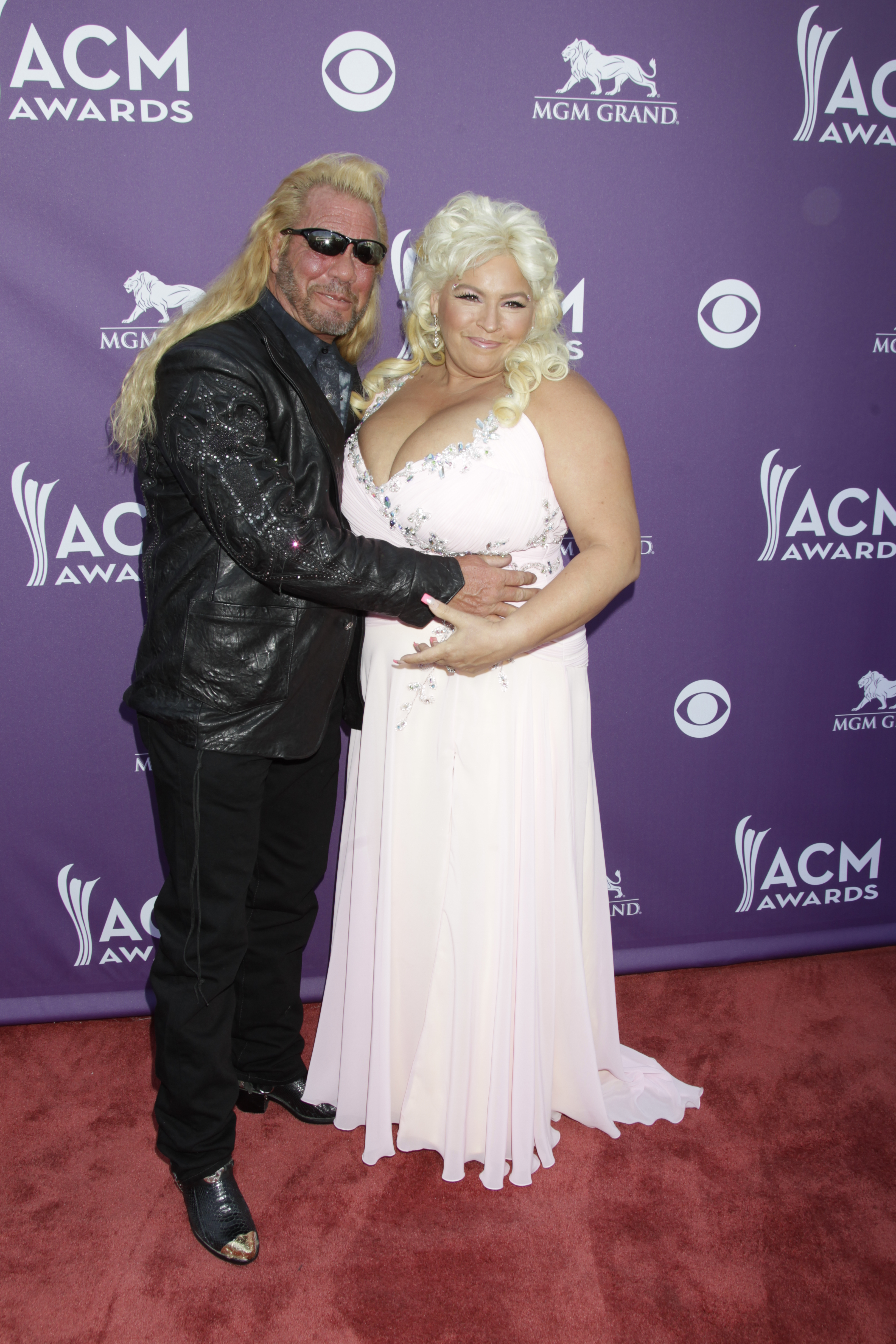 Dog the Bounty Hunter and Beth Chapman - 48th ACM Awards