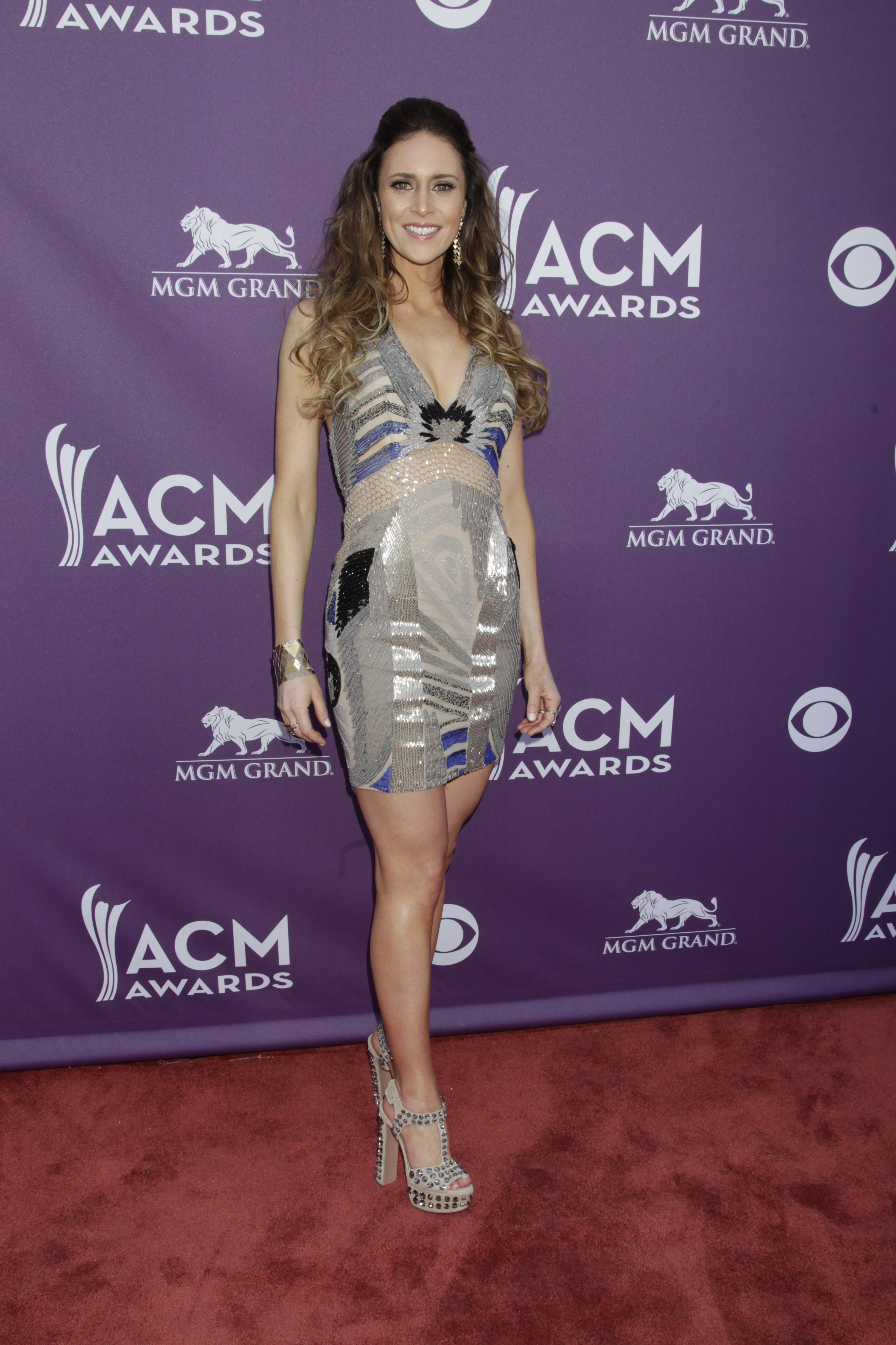 Kelleigh Bannen on the Red Carpet - 48th ACM Awards