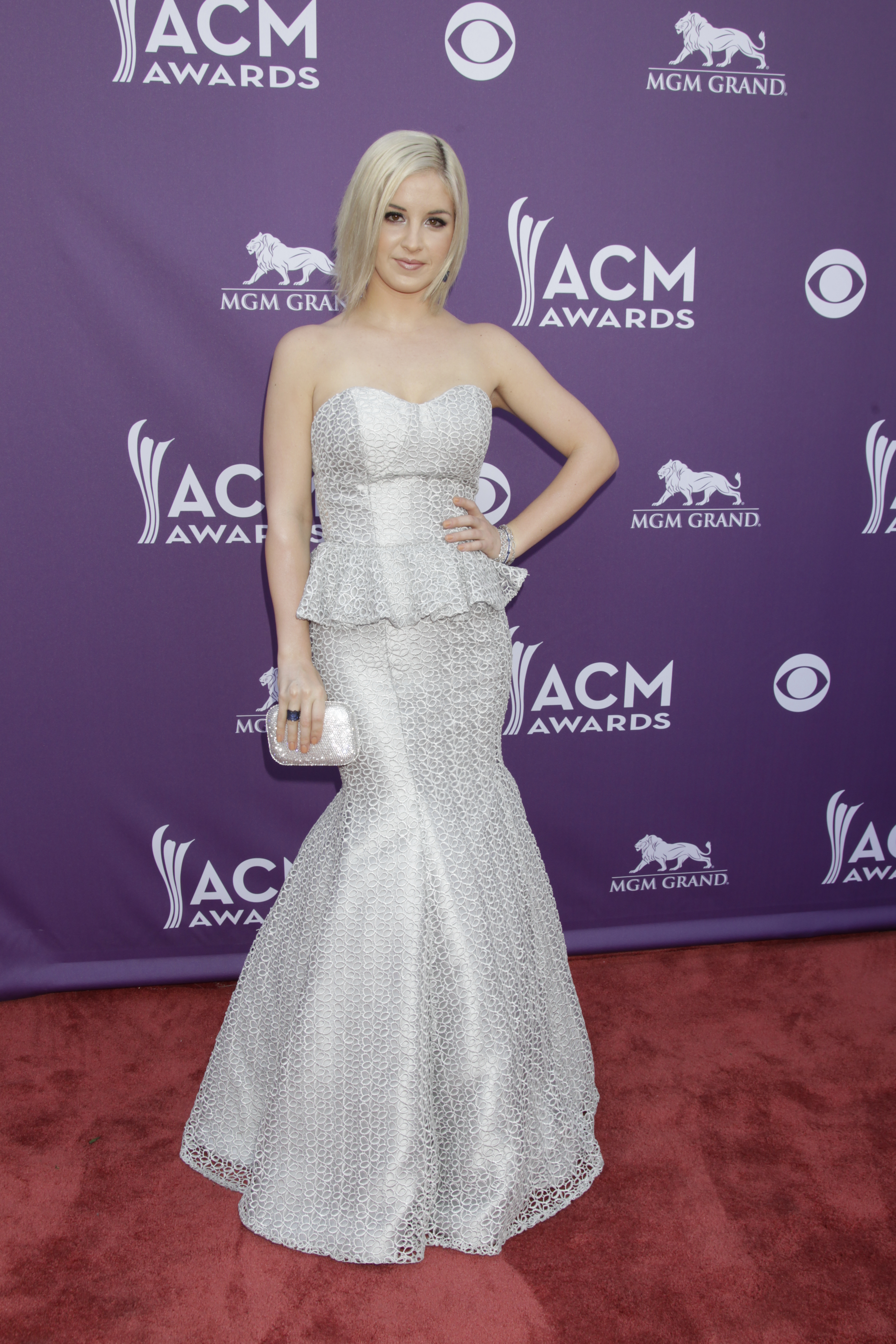 Maggie Rose on the Red Carpet - 48th ACM Awards