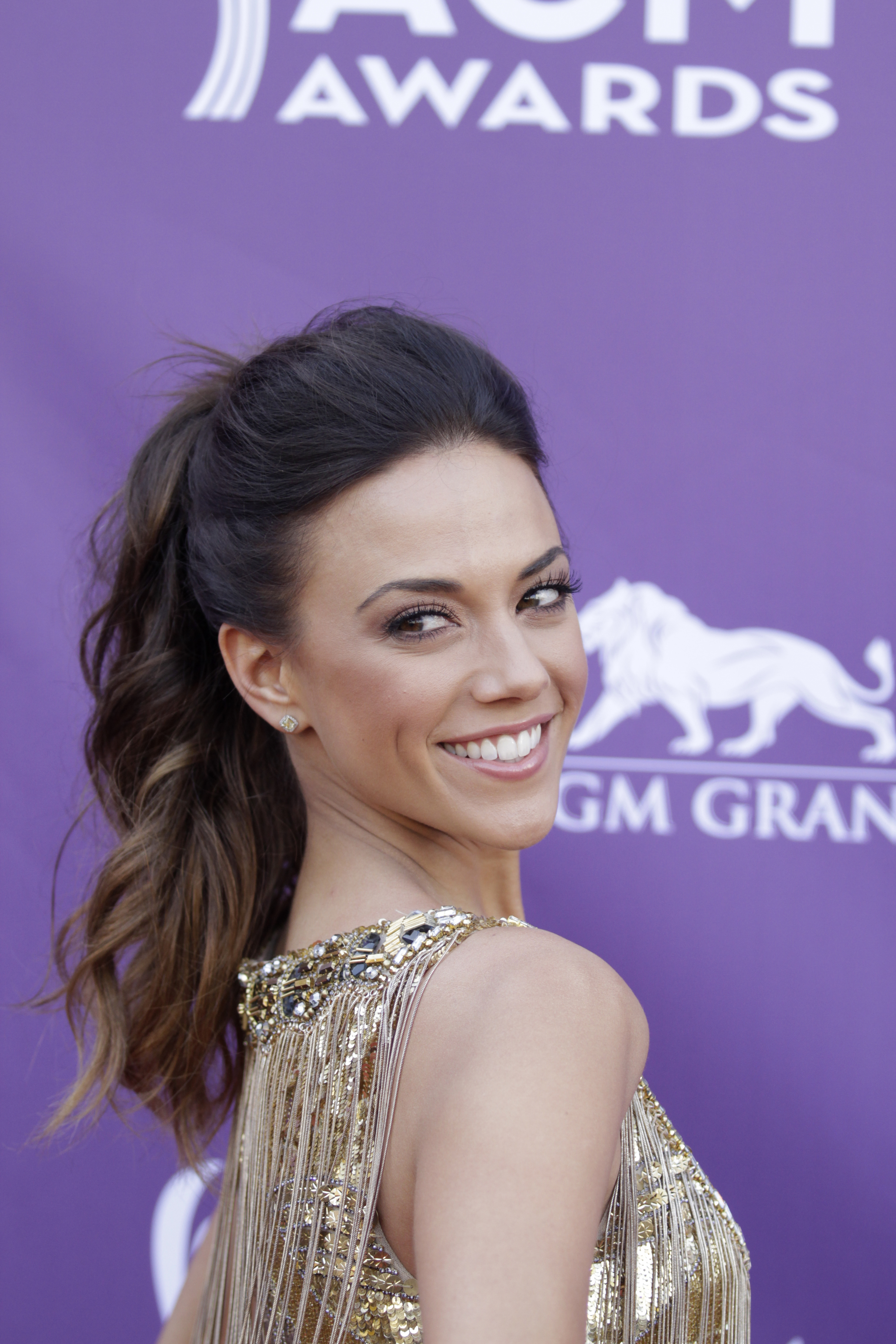 Jana Kramer on the Red Carpet - 48th ACM Awards