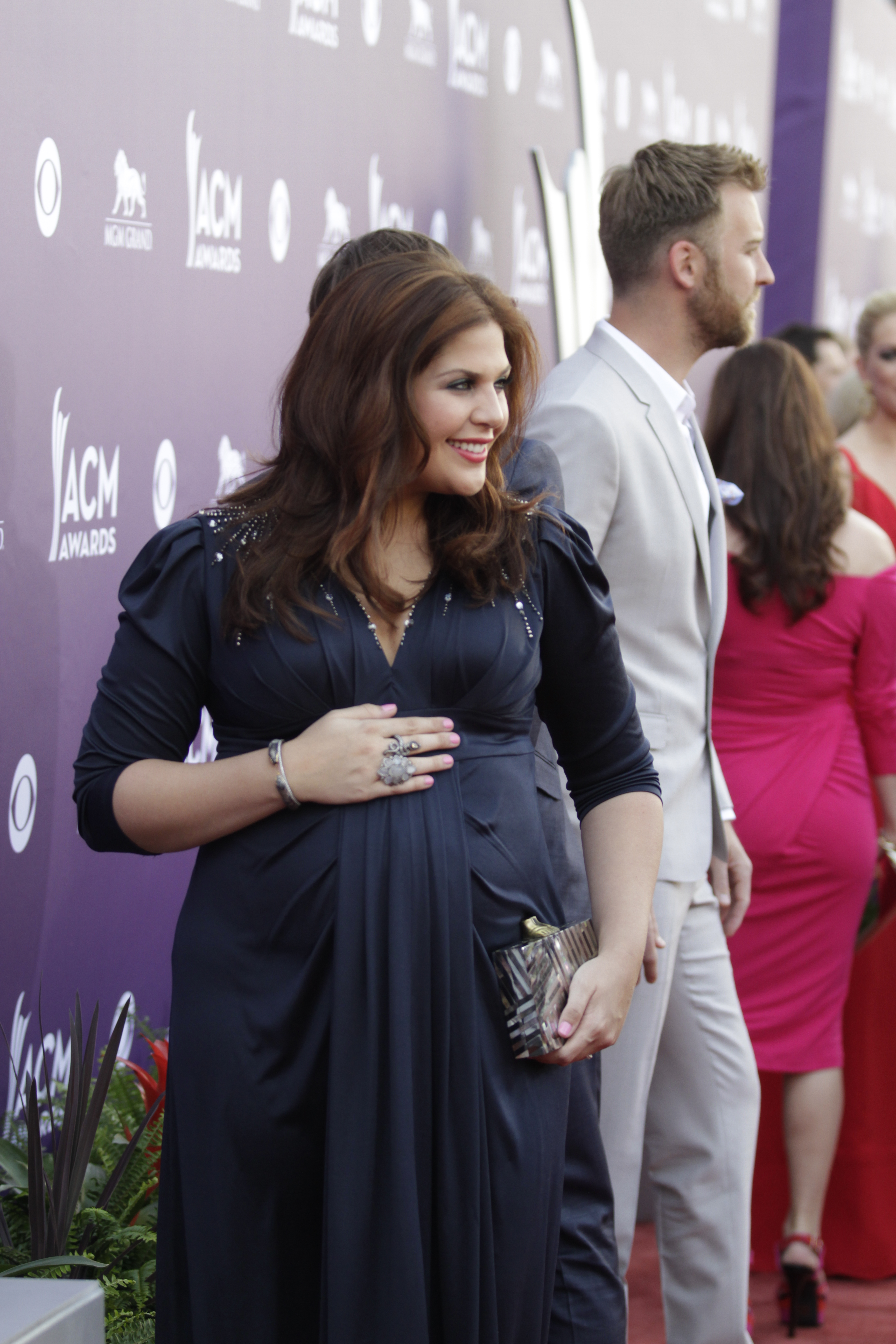 Hillary Scott on the Red Carpet - 48th ACM Awards