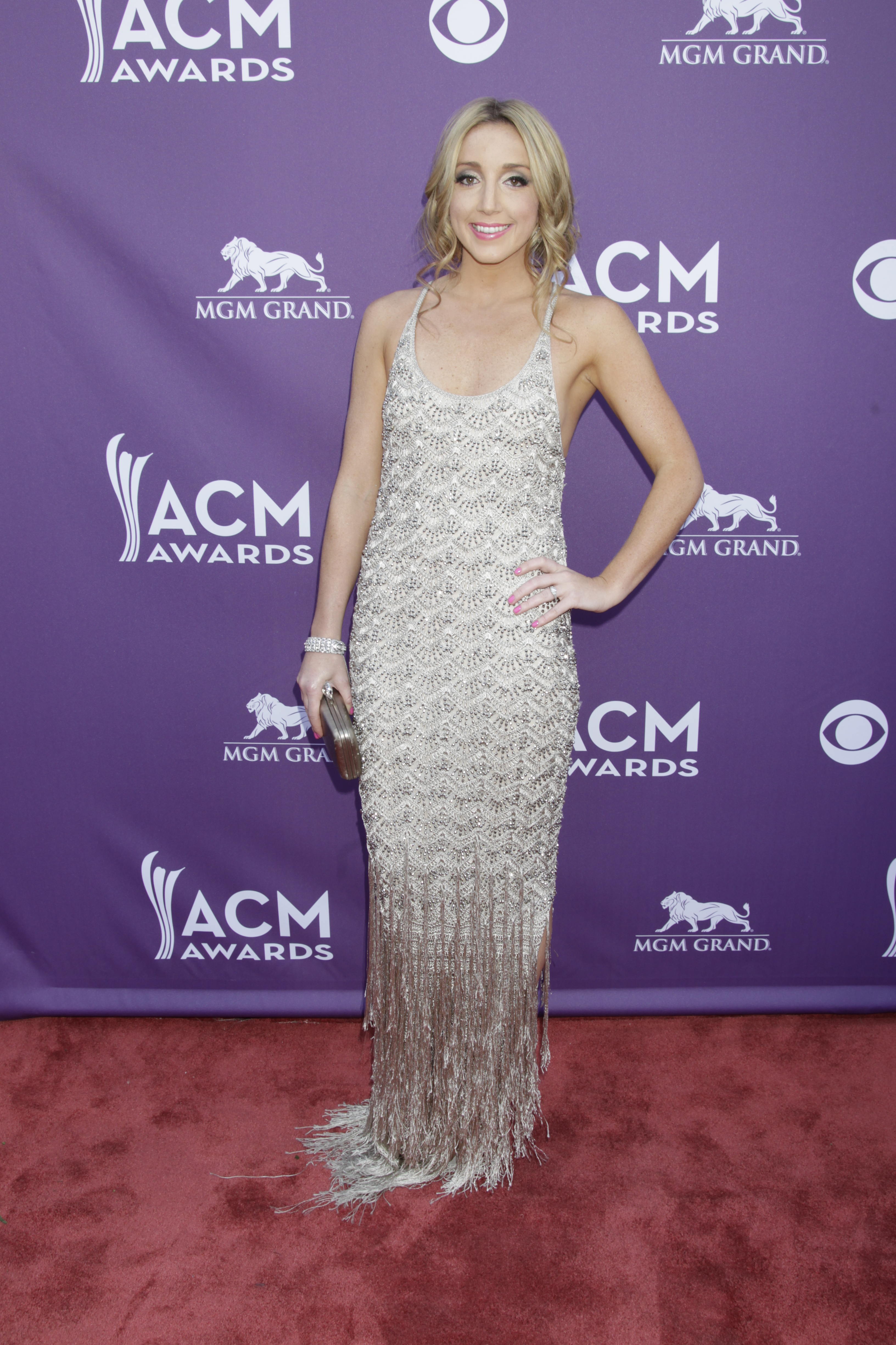 Ashley Monroe on the Red Carpet - 48th ACM Awards