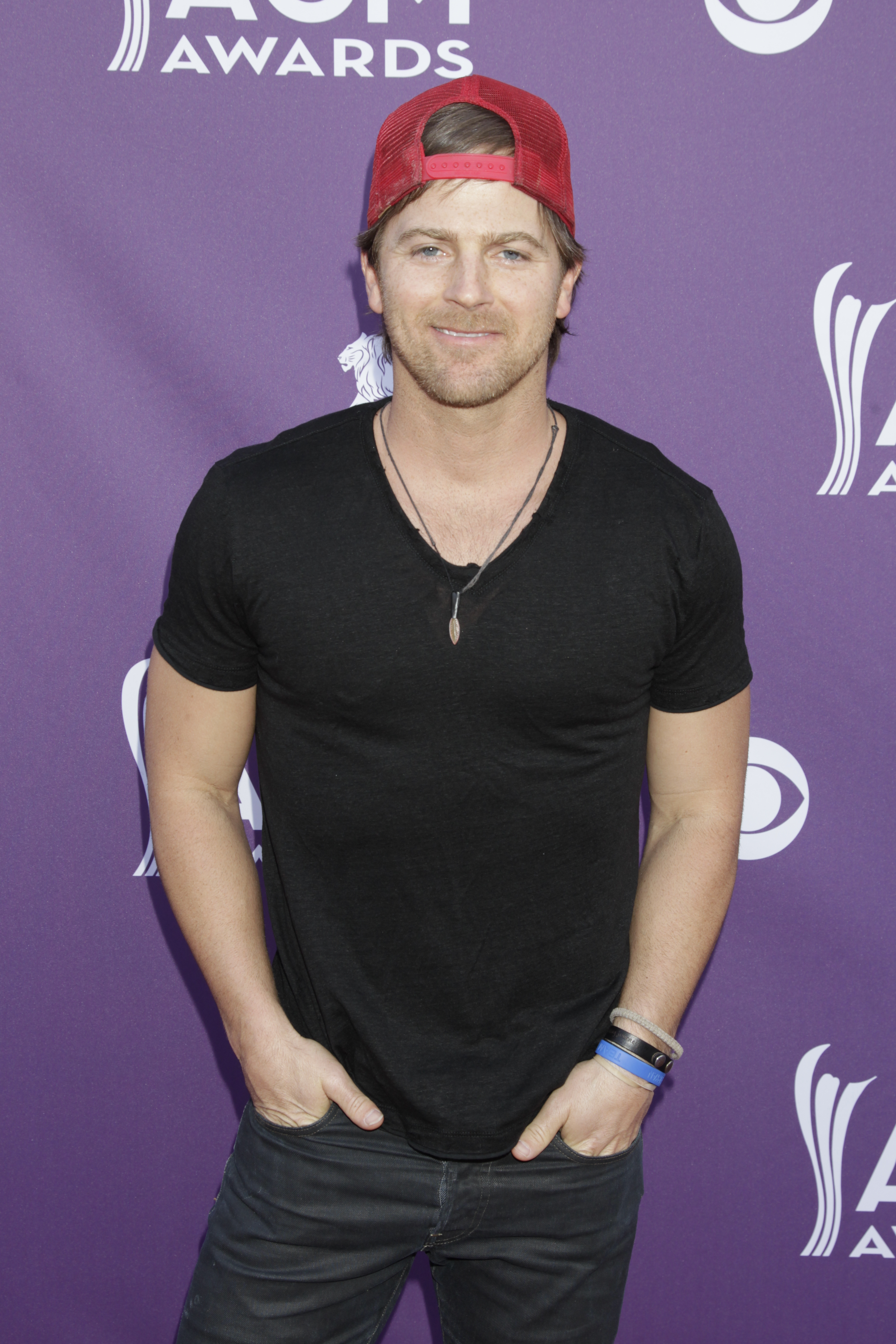 Kip Moore on the Red Carpet - 48th ACM Awards