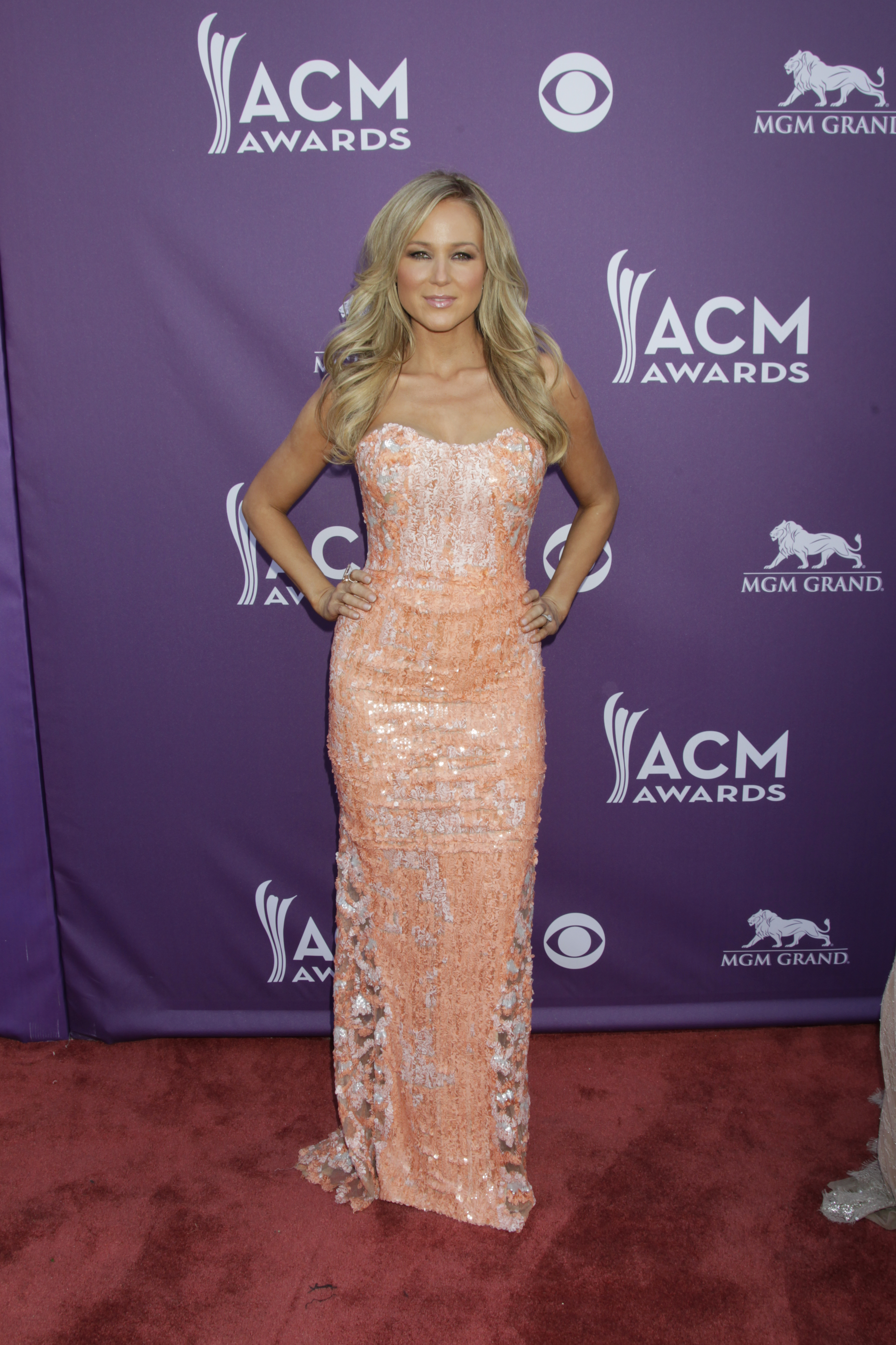 Jewel on the Red Carpet - 48th ACM Awards