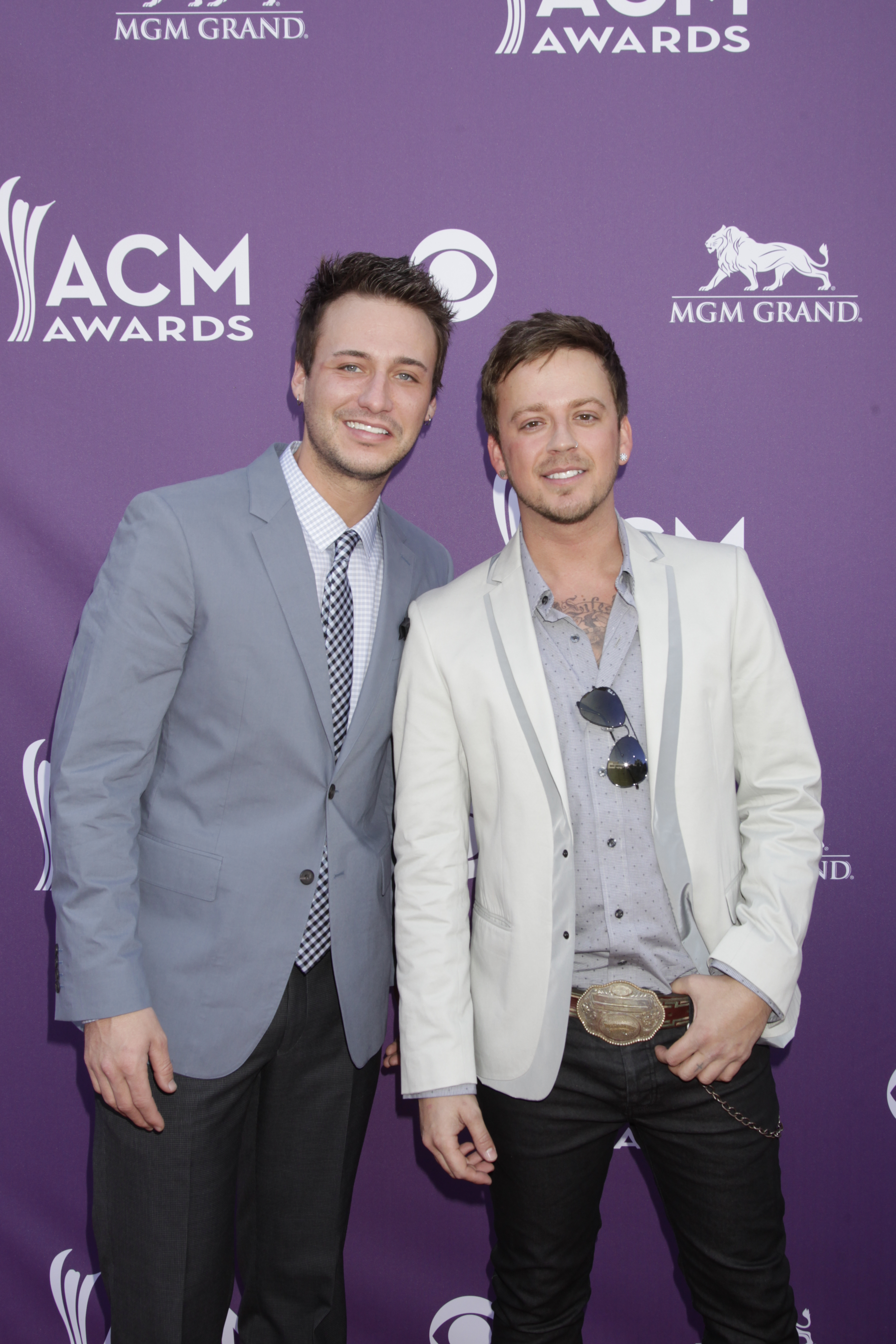 Love and Theft  on the Red Carpet - 48th ACM Awards