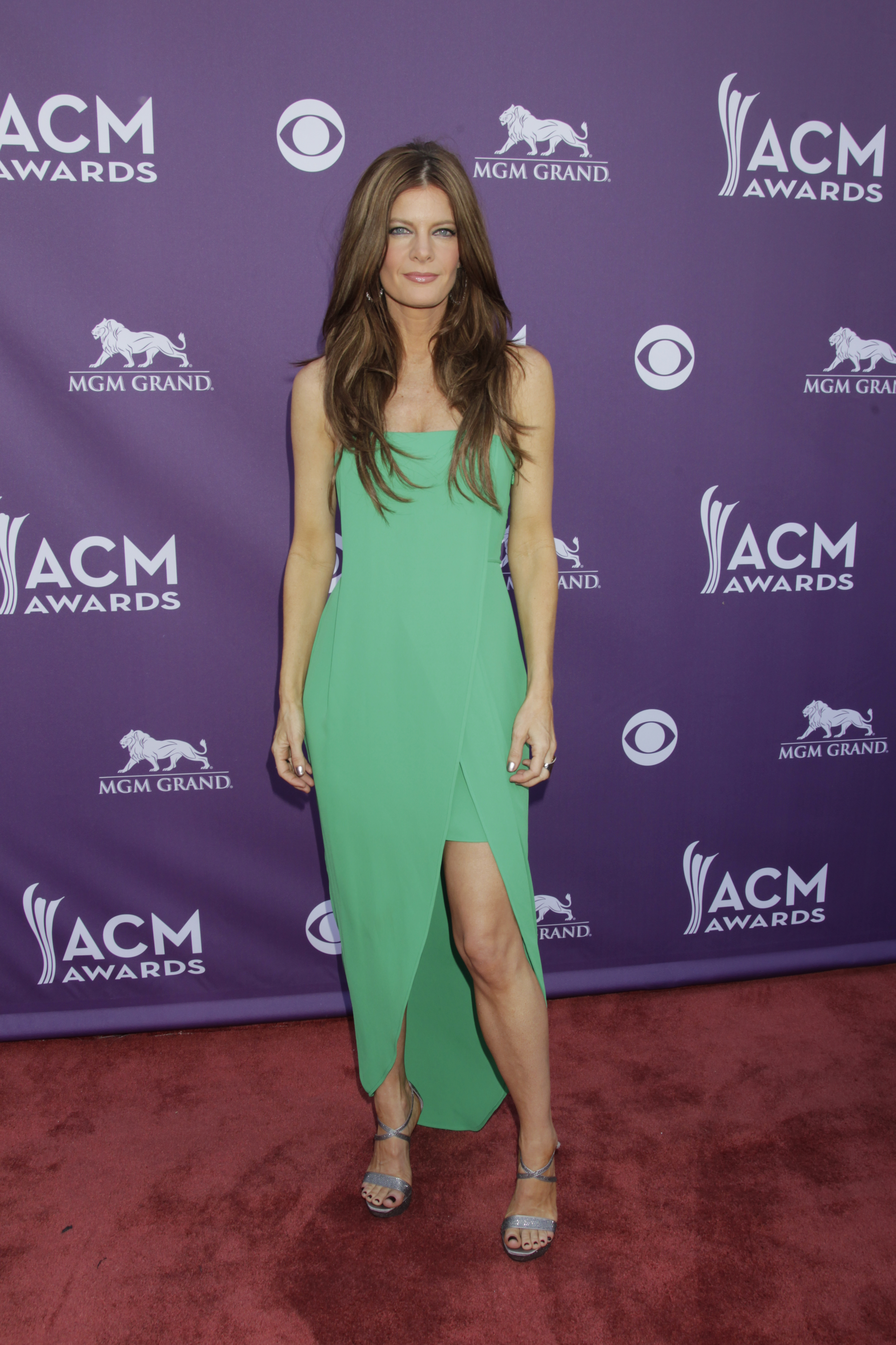 Michelle Stafford on the Red Carpet - 48th ACM Awards