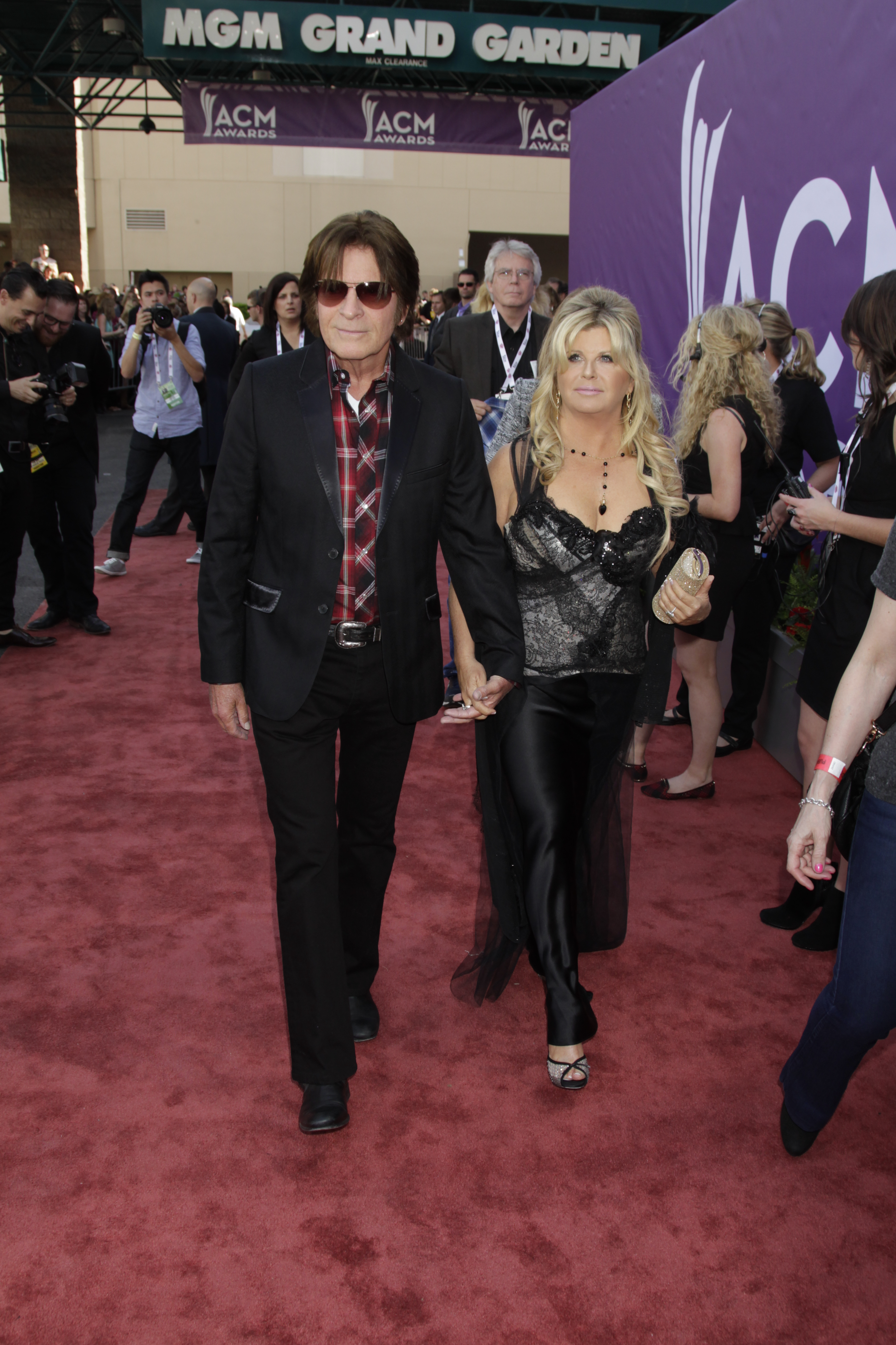John Fogerty on the Red Carpet - 48th ACM Awards