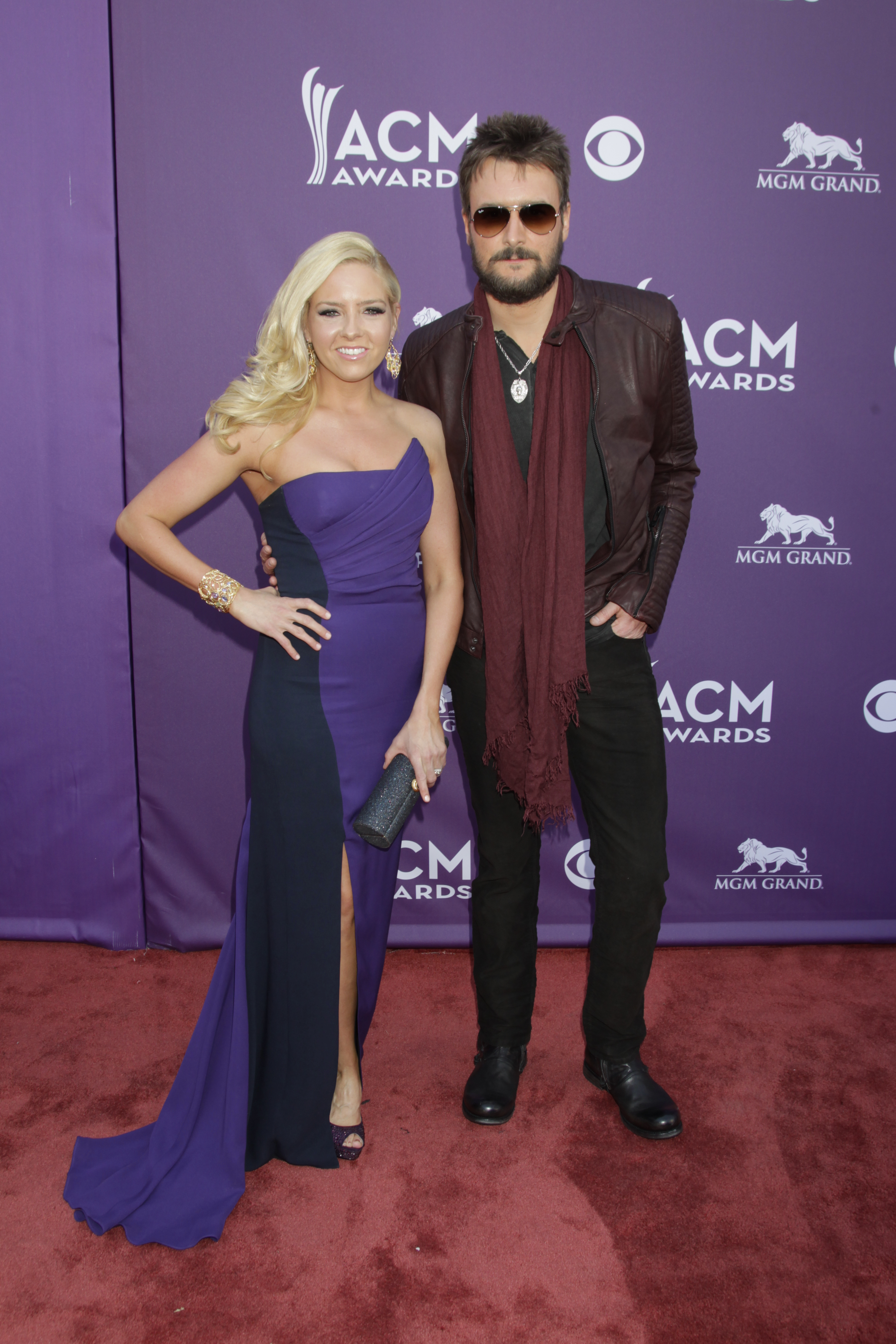 Eric Church on the Red Carpet - 48th ACM Awards