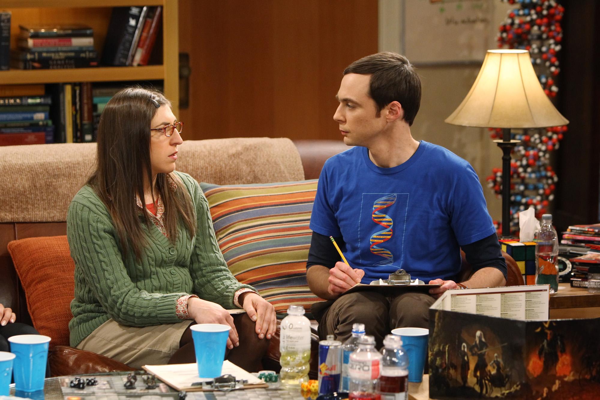 Amy & Sheldon on