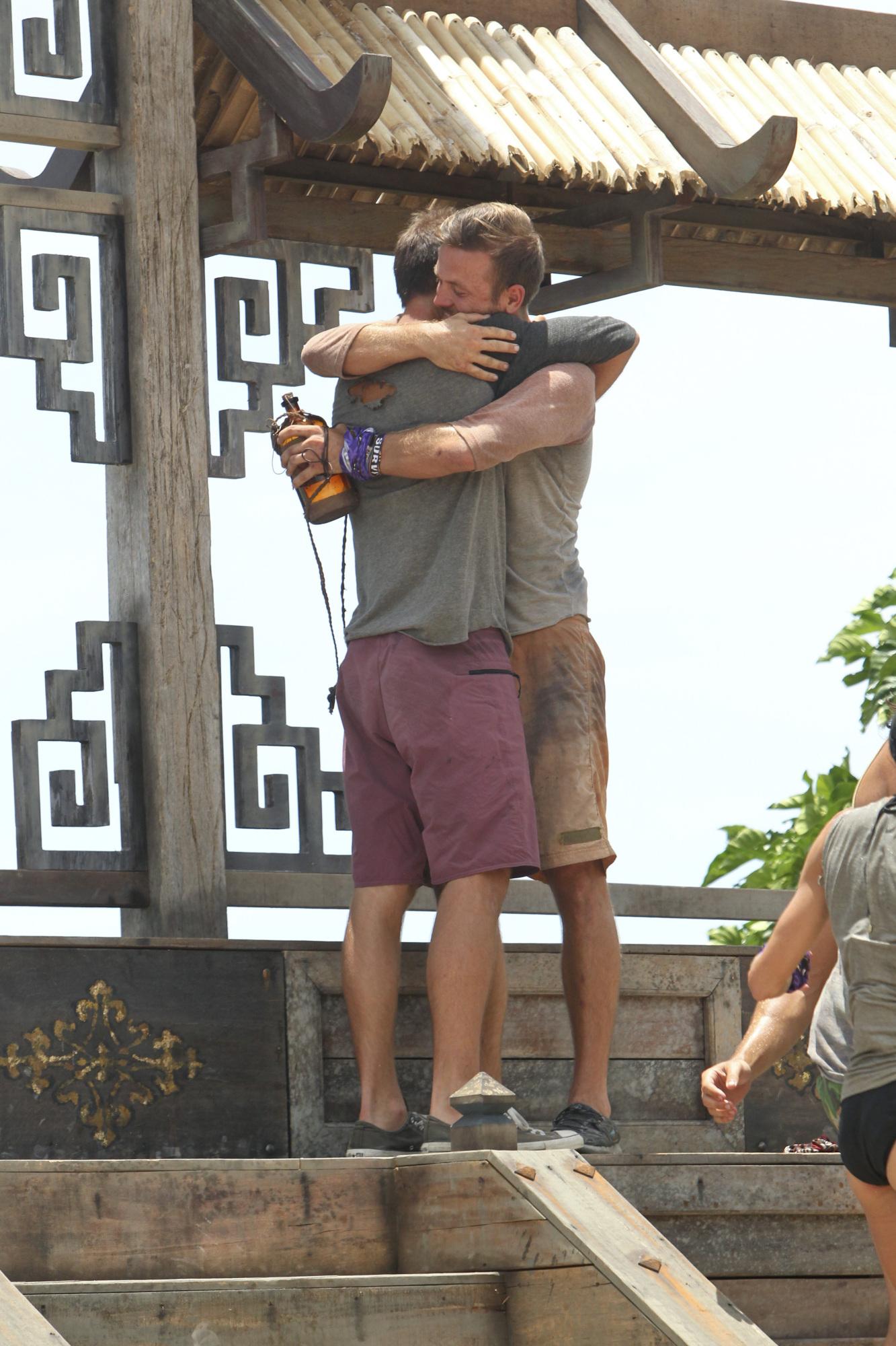 Brotherly embrace