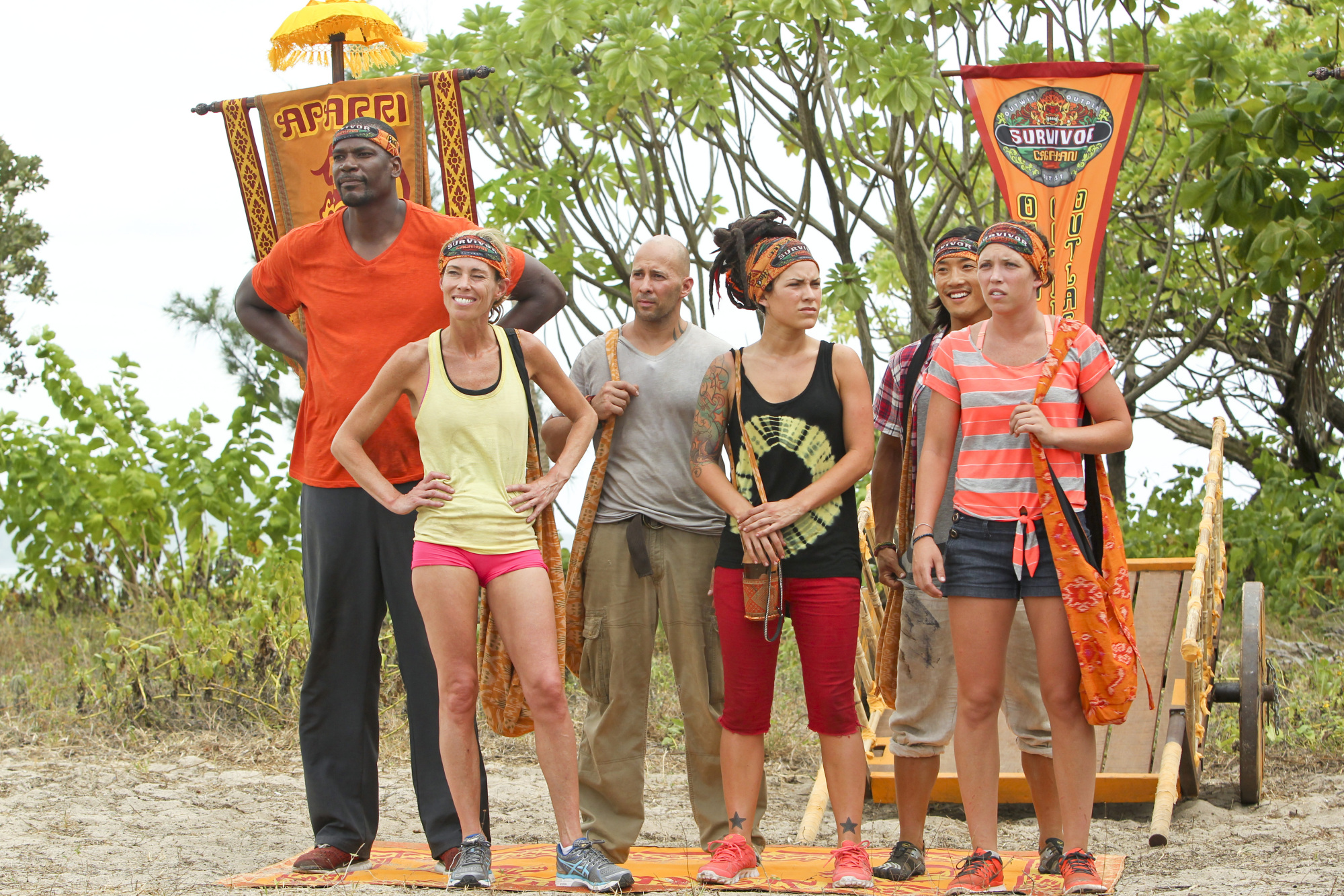 The Brawn Tribe on the Season 28 premiere