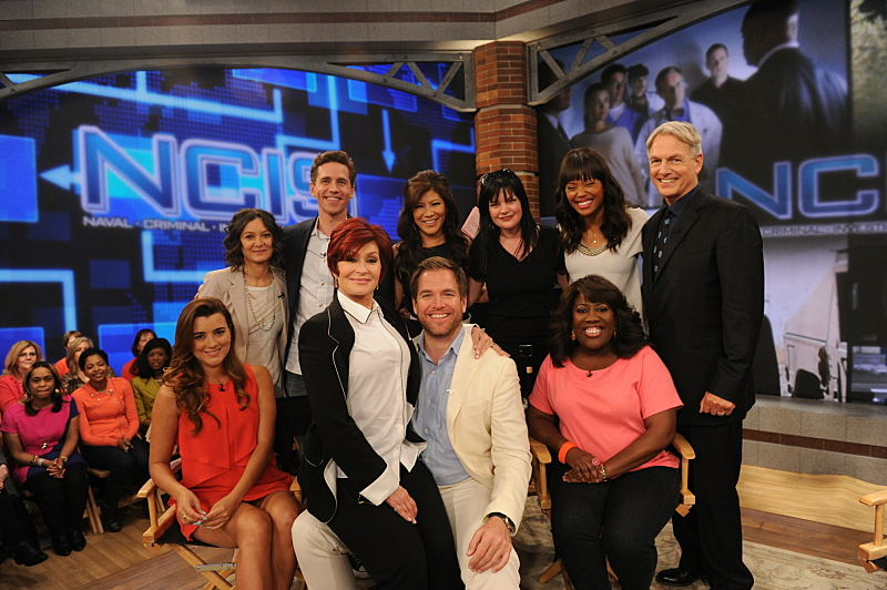 Say hello to the cast of NCIS
