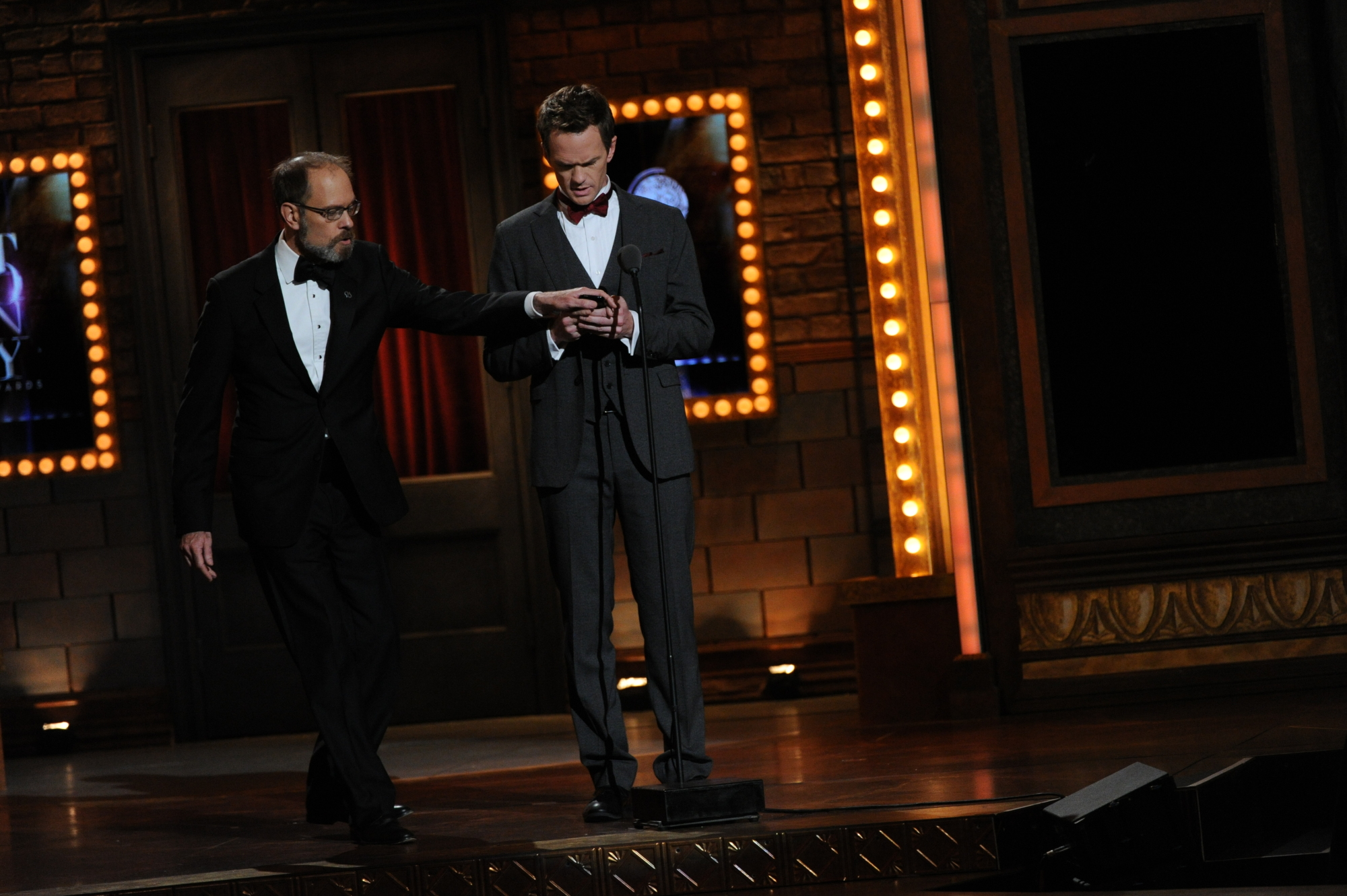 David Hyde Pierce and Neil Patrick Harris