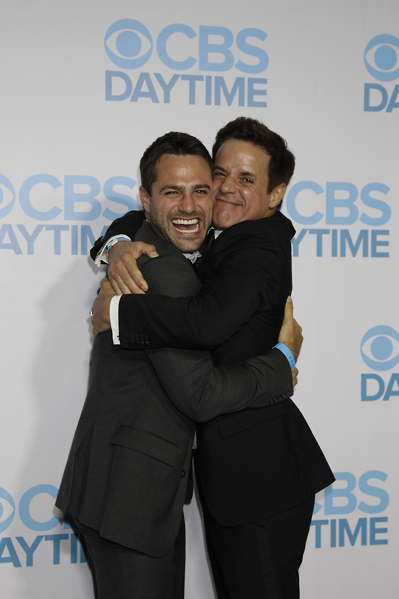 Marco Dapper and Christian LeBlanc
