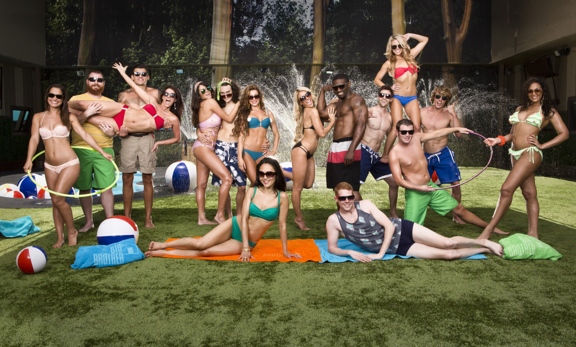 Houseguests in Swimsuits