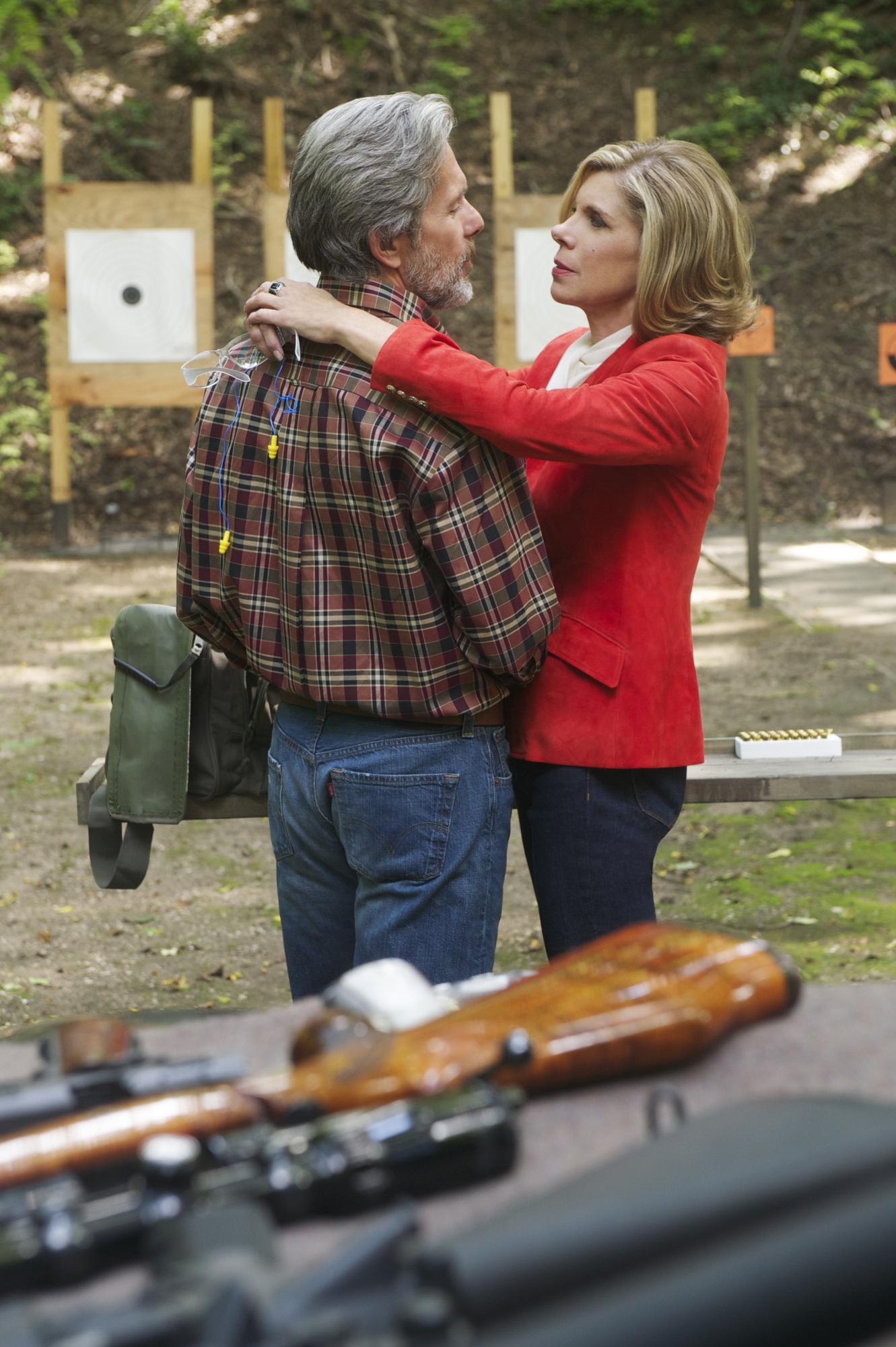 Diane takes shelter with Kurt
