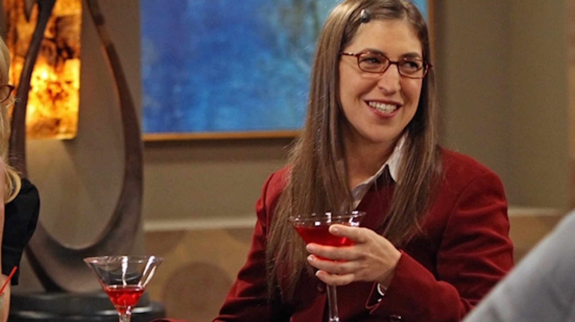 Amy Farrah Fowler is on the prowl