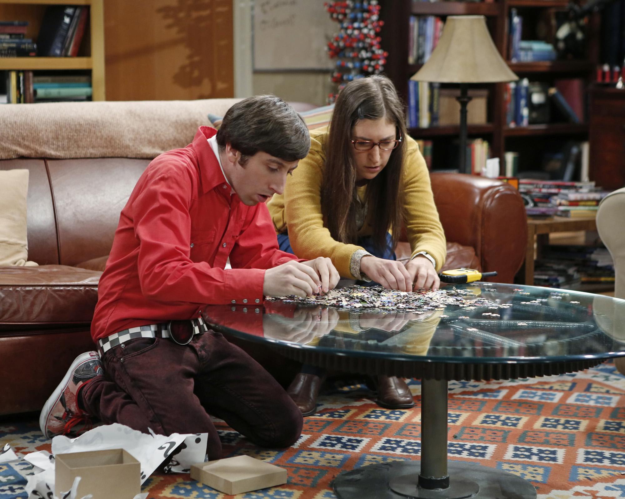 Howard & Amy in