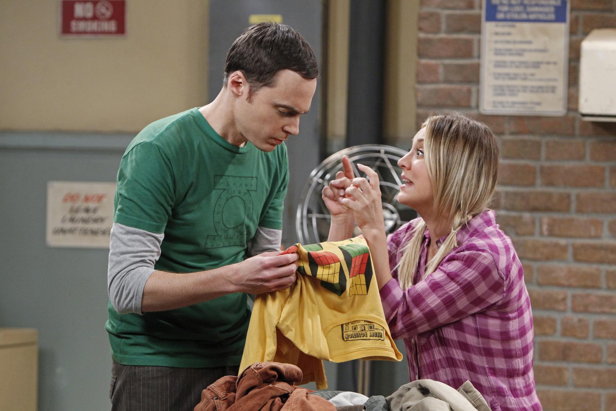 Sheldon & Penny in