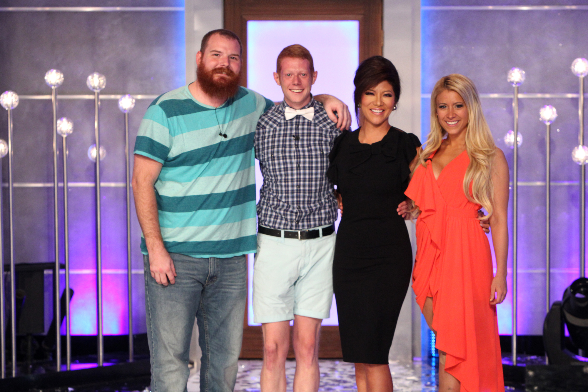 Spencer, Andy, Julie and GinaMarie