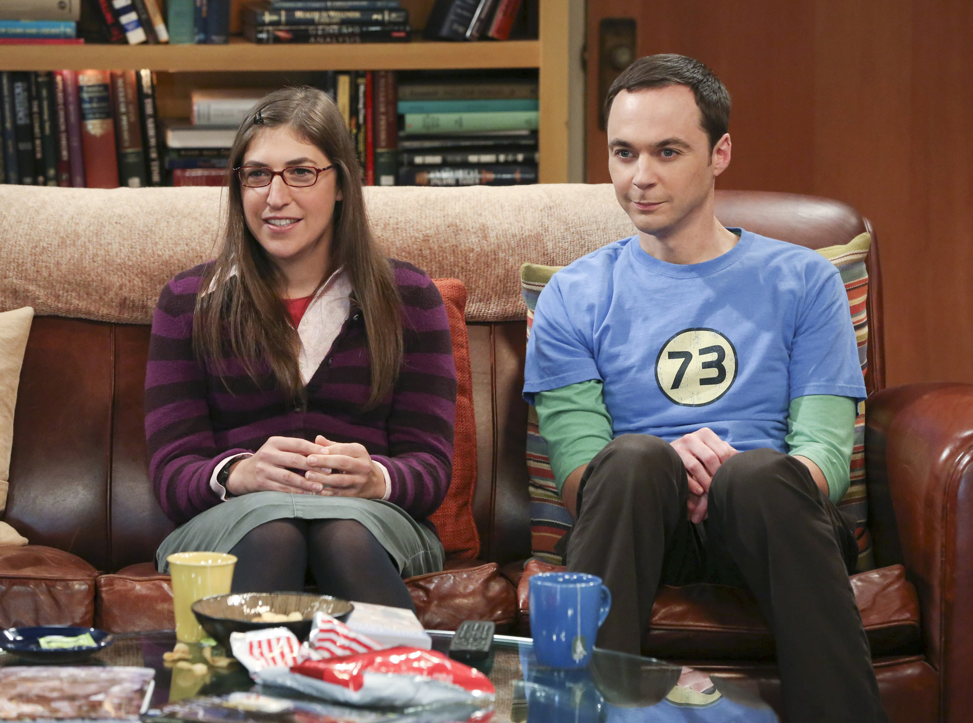 Amy & Sheldon in
