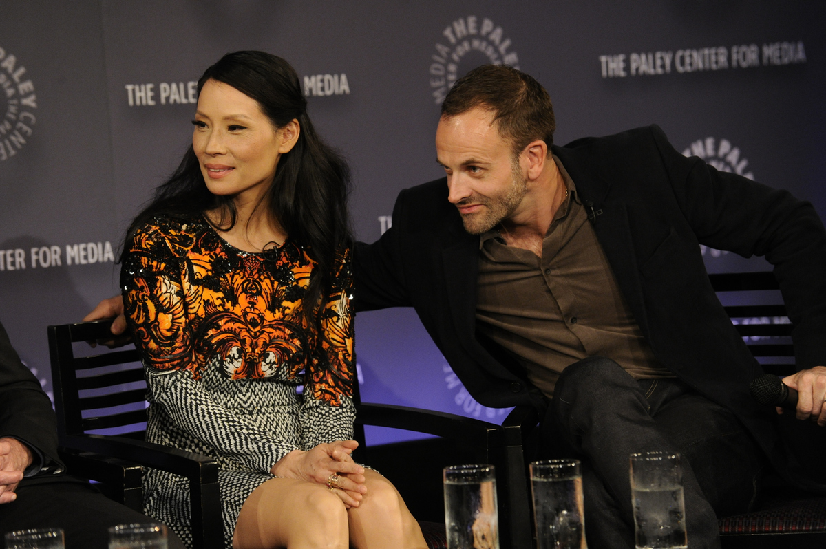 Jonny Lee Miller and Lucy Liu