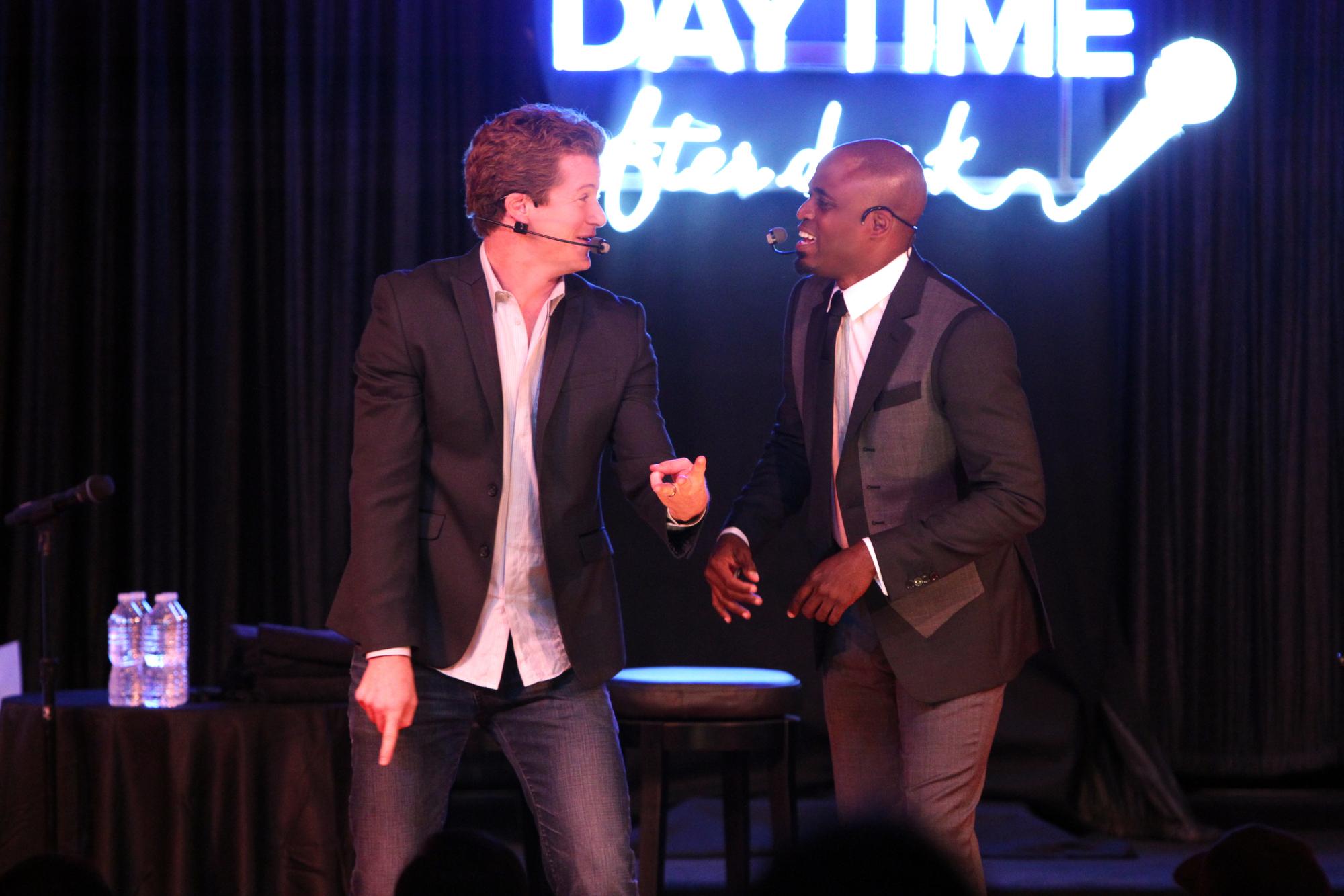 Jonathan and Wayne Performing