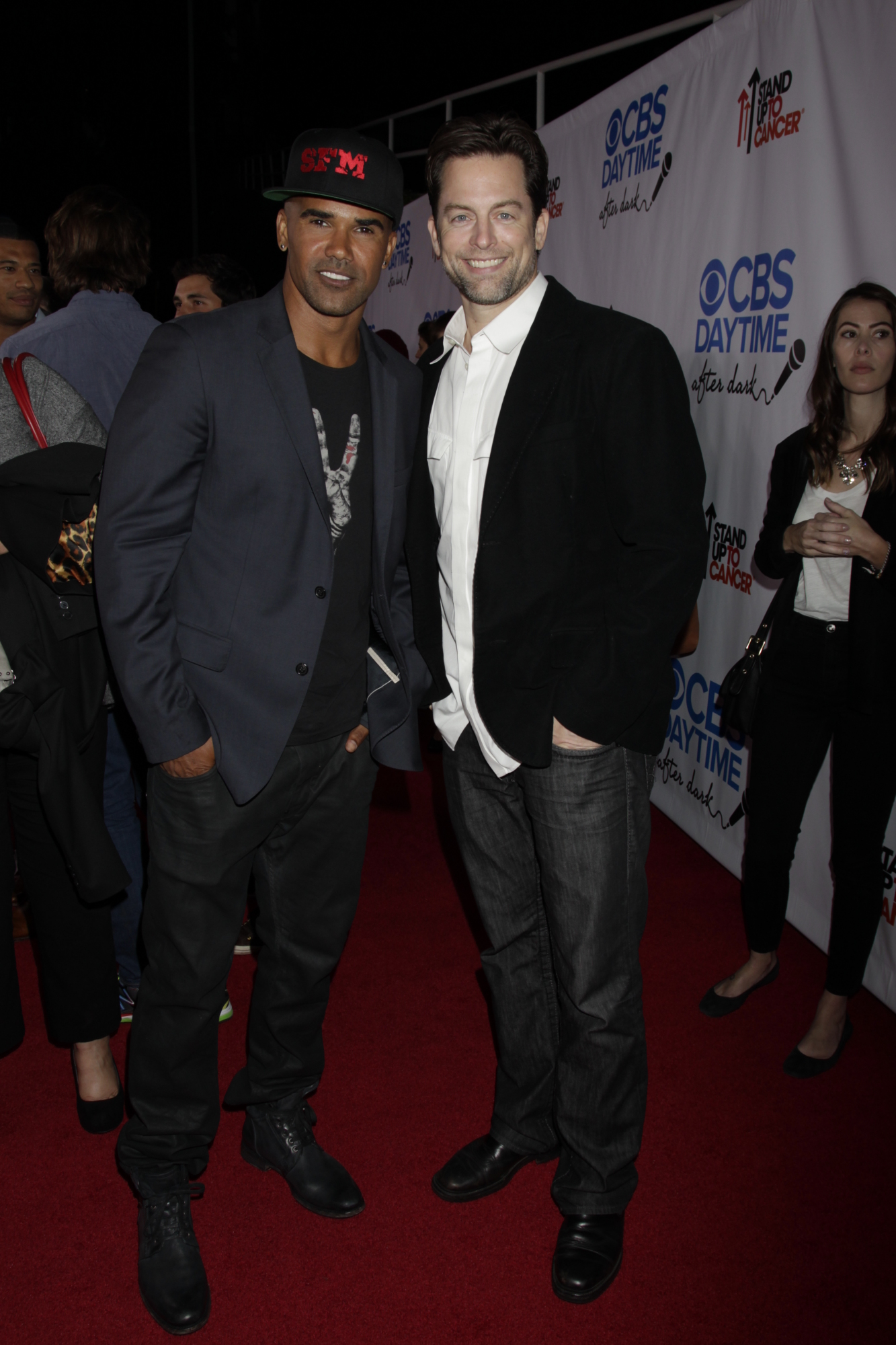 Shemar and Michael