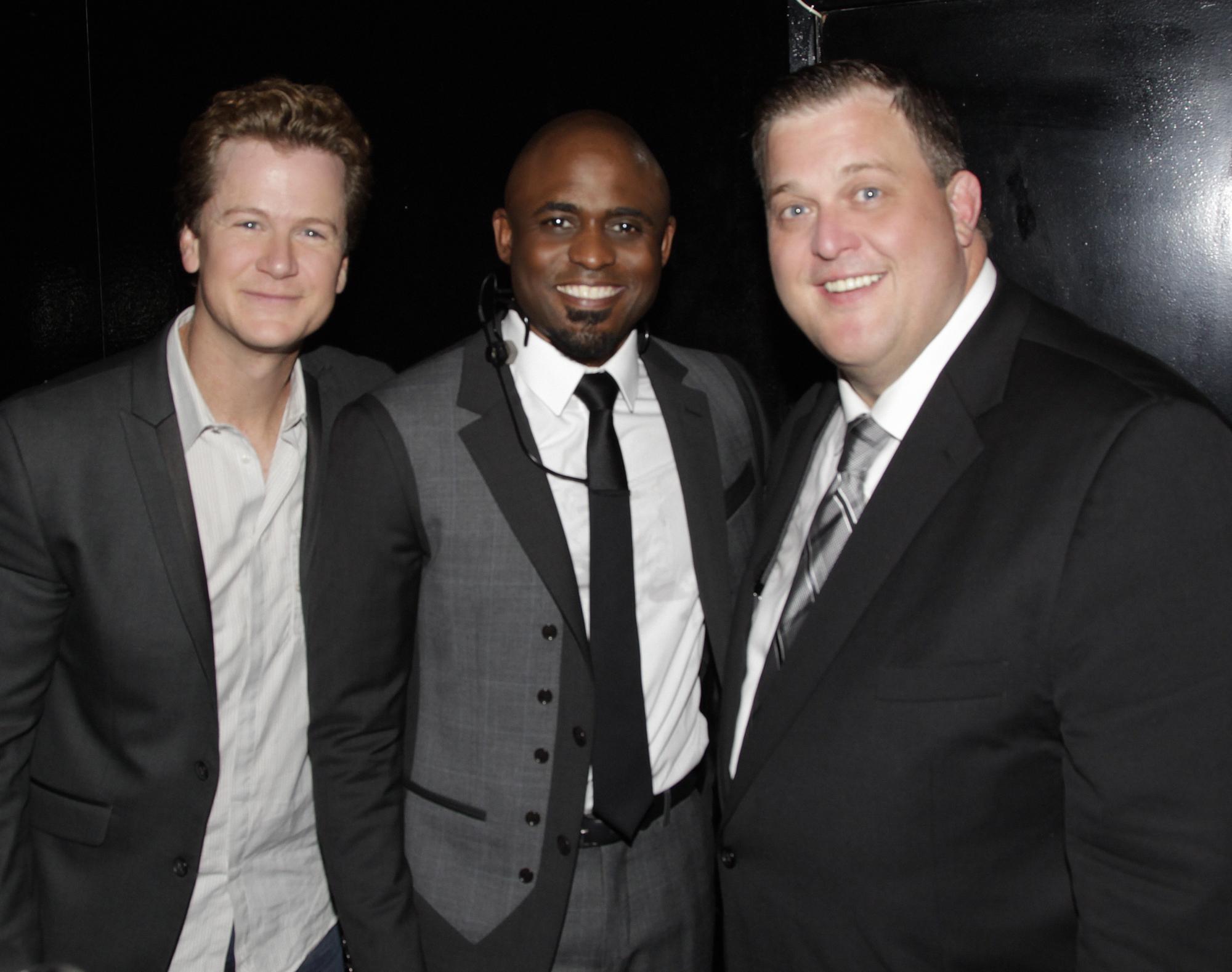 Jonathan, Wayne, and Billy