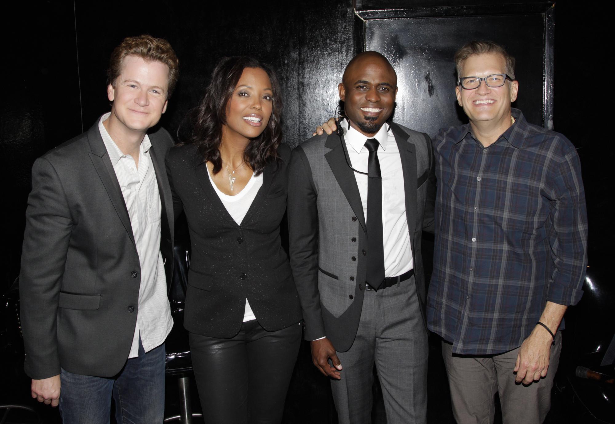 Jonathan, Aisha, Wayne, and Drew