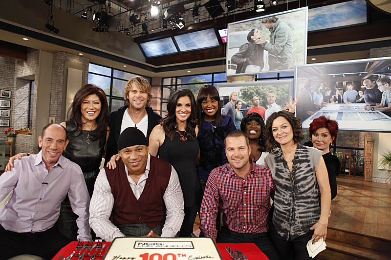 NCIS: Los Angeles visits THE TALK