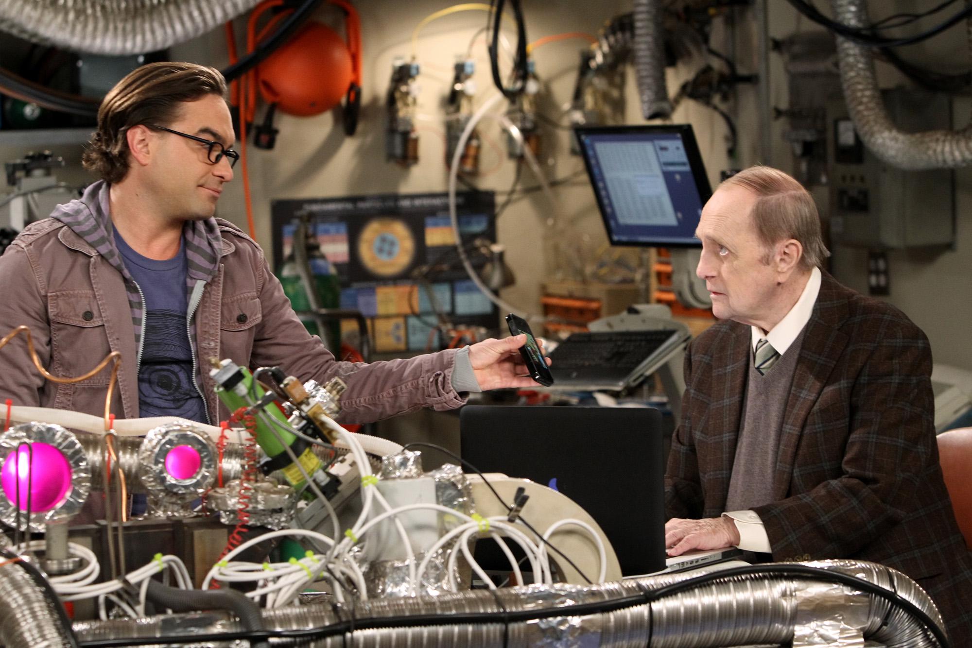 Leoanrd & Professor Proton